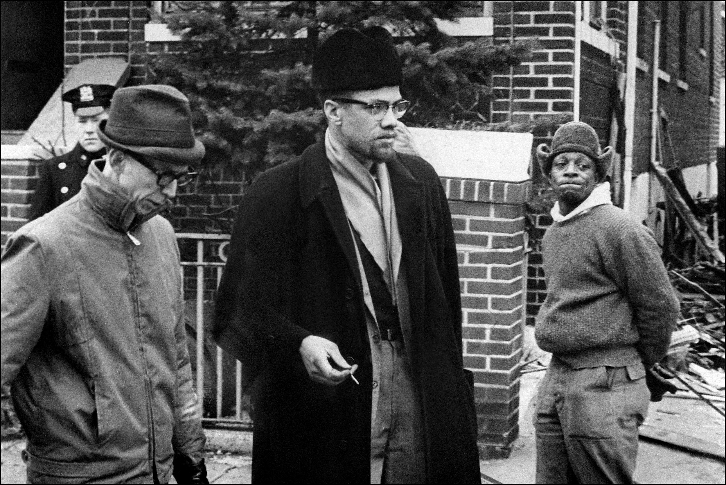2500x1669 Undated picture of Malcolm X (C), the leader of th