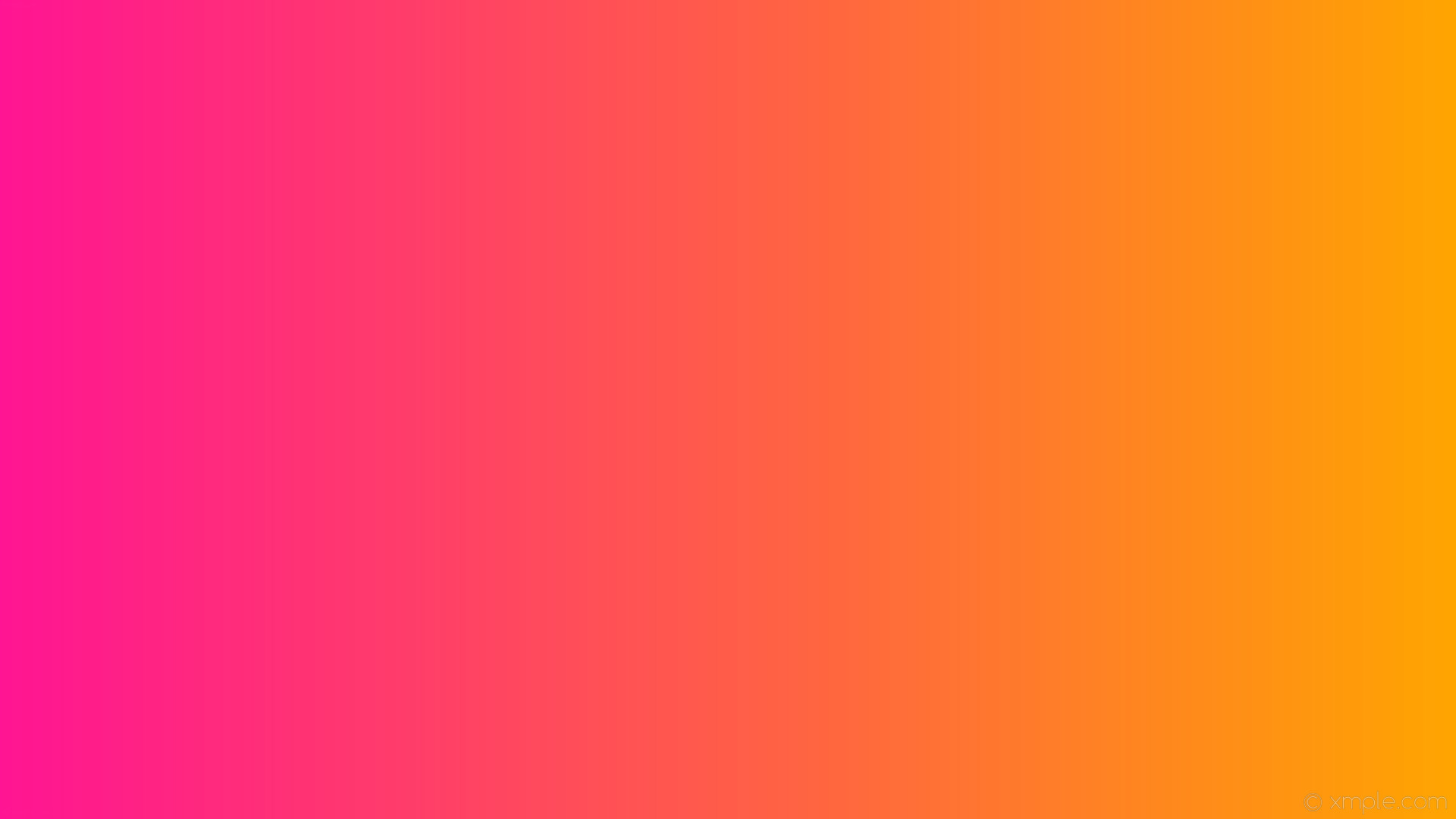 1920x1080 wallpaper gradient linear pink orange deep pink #ffa500 #ff1493 0°