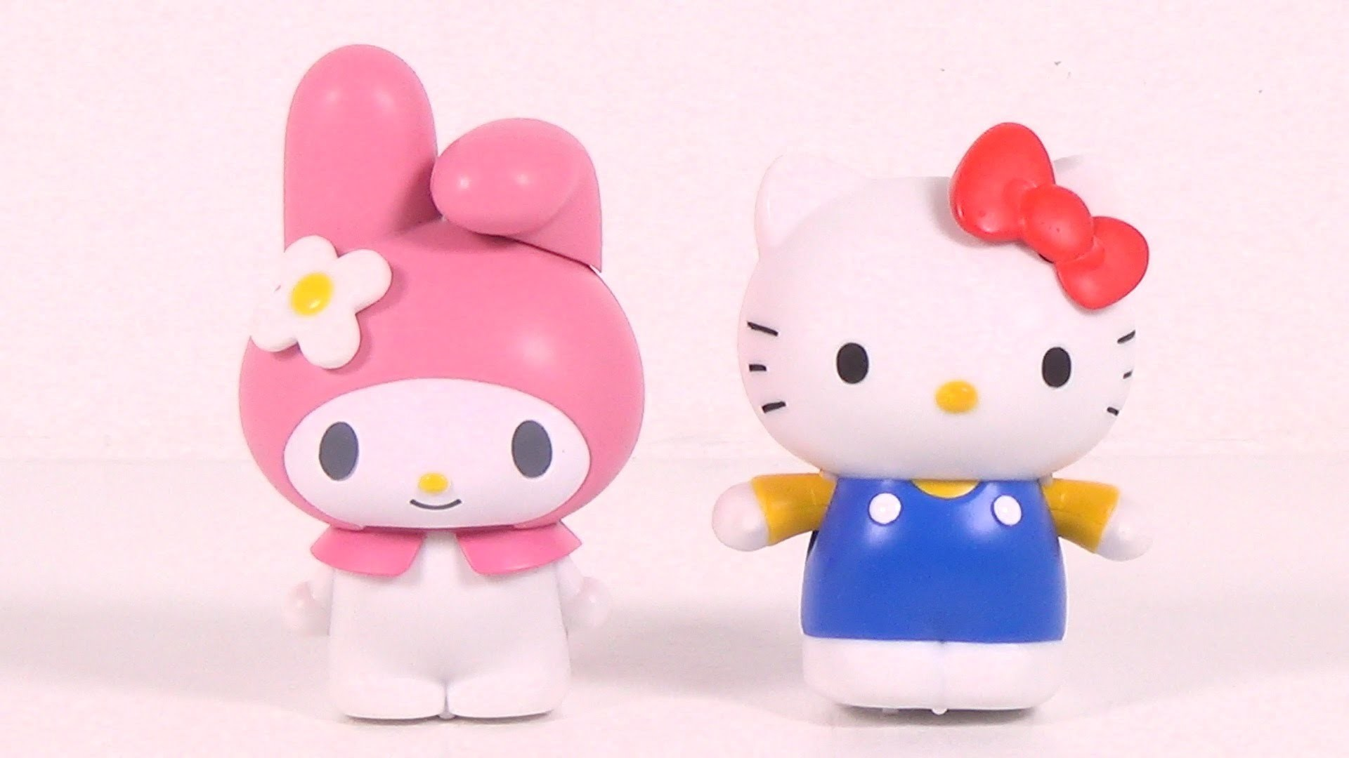 1920x1080 Sanrio My Melody & Hello Kitty Movin' Movin' Windup Toys by Takara Tomy -  Toy Unboxing - YouTube