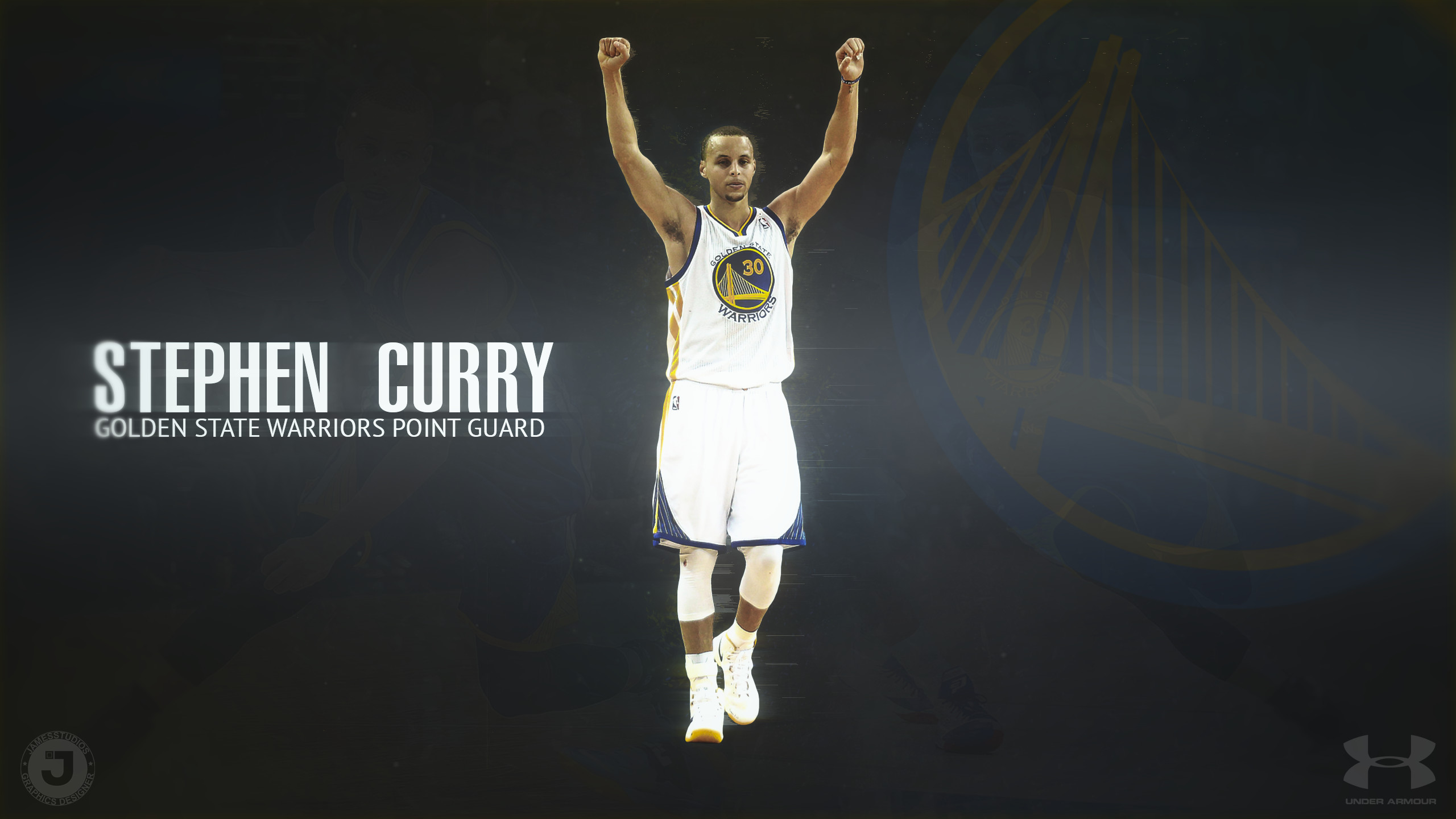 2560x1440 Stephen Curry Warriors Basketball - Best Wallpaper HD