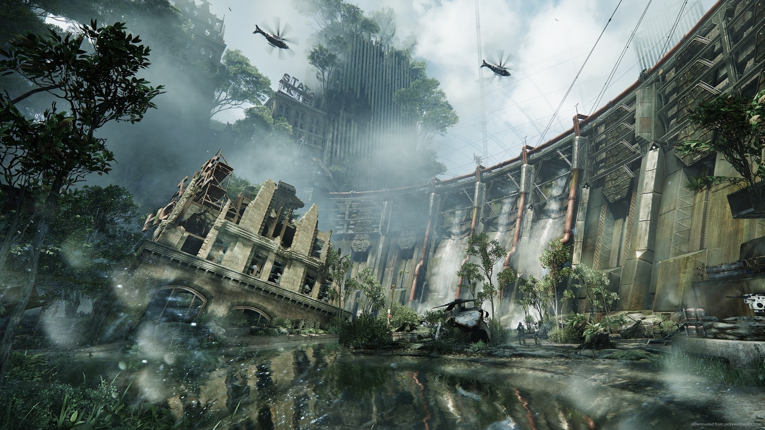 2560x1440 Crysis 3 Wallpaper For Android For Free Wallpaper