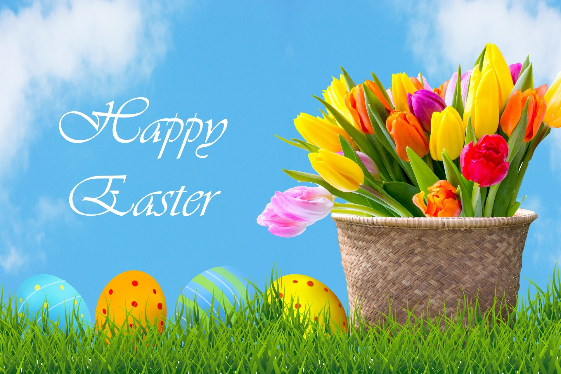 Easter Wallpapers Hd Download Free Colletion 60: Happy Easter Backgrounds For Desktop (66+ Images