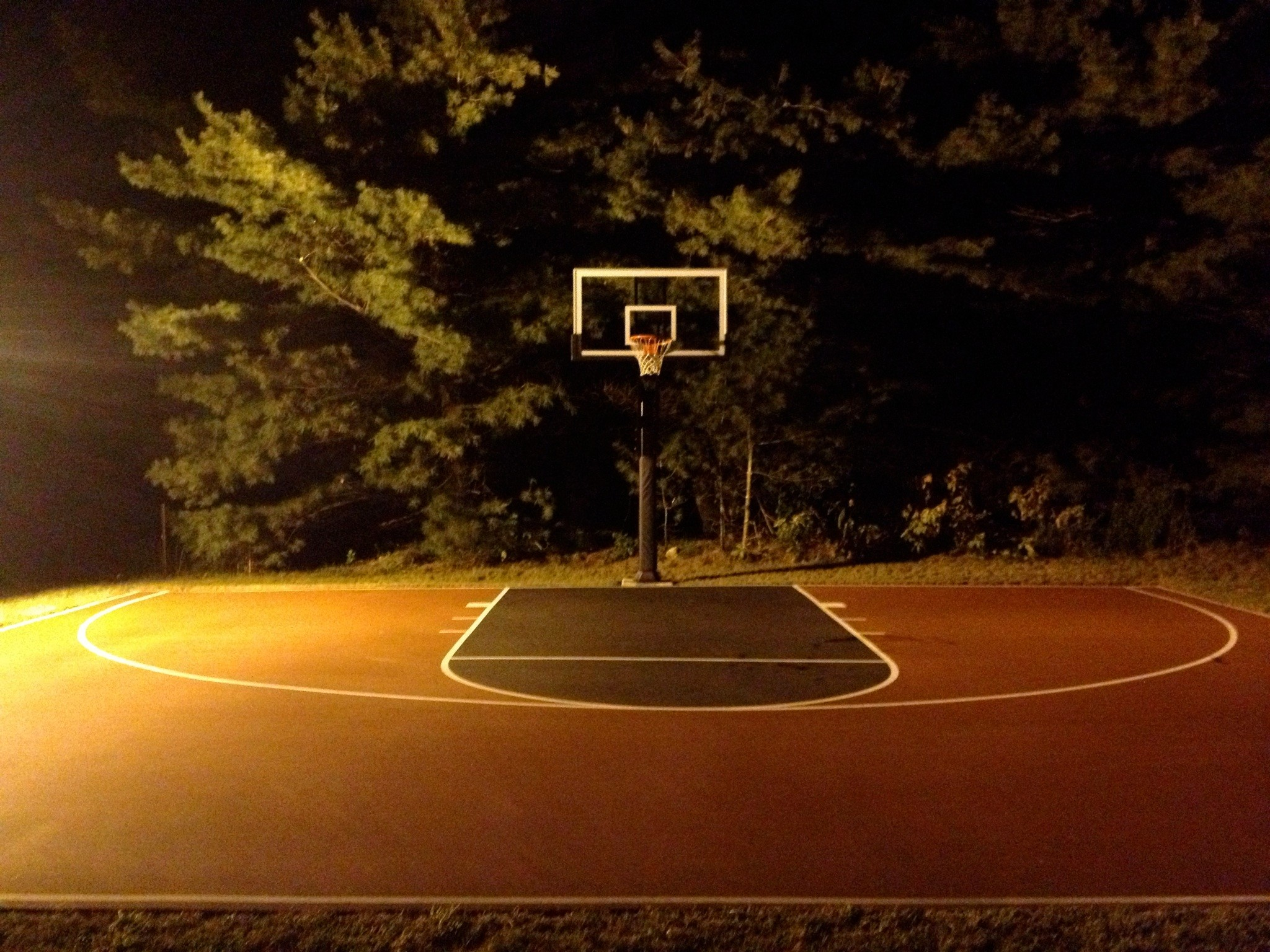Outdoor basketball court texture