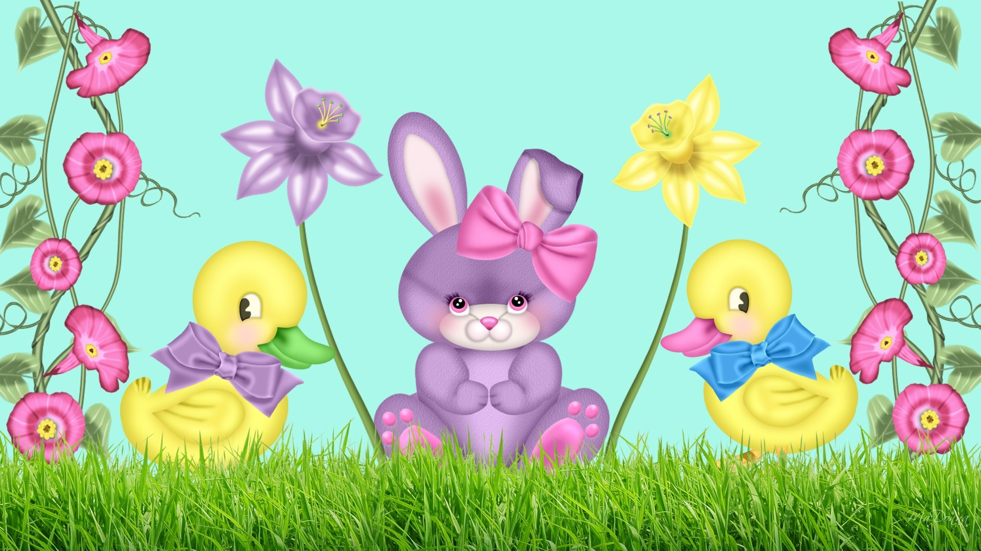 1920x1080 Cute Easter Wallpapers