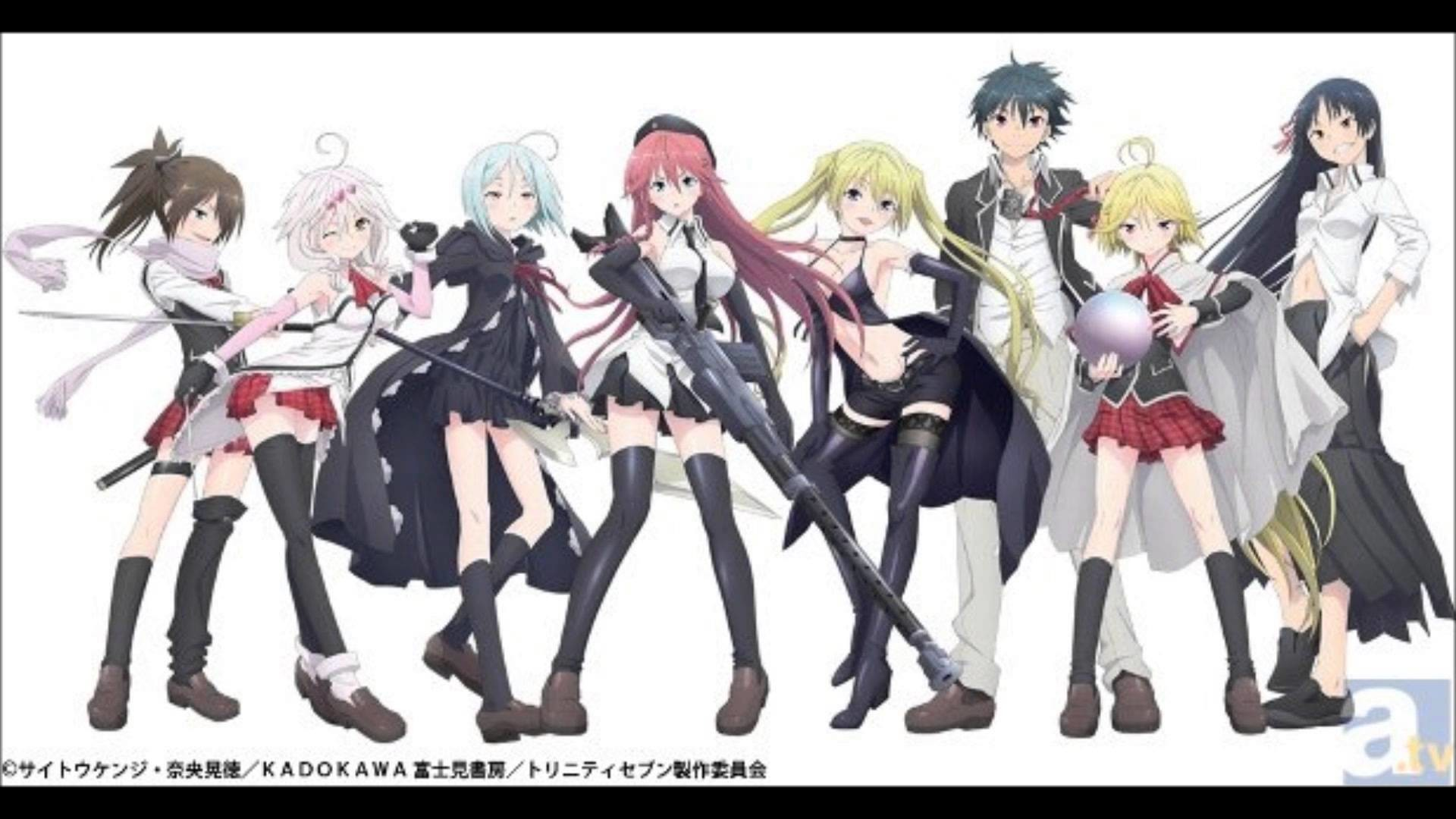 Trinity Seven Wallpaper 71 Images