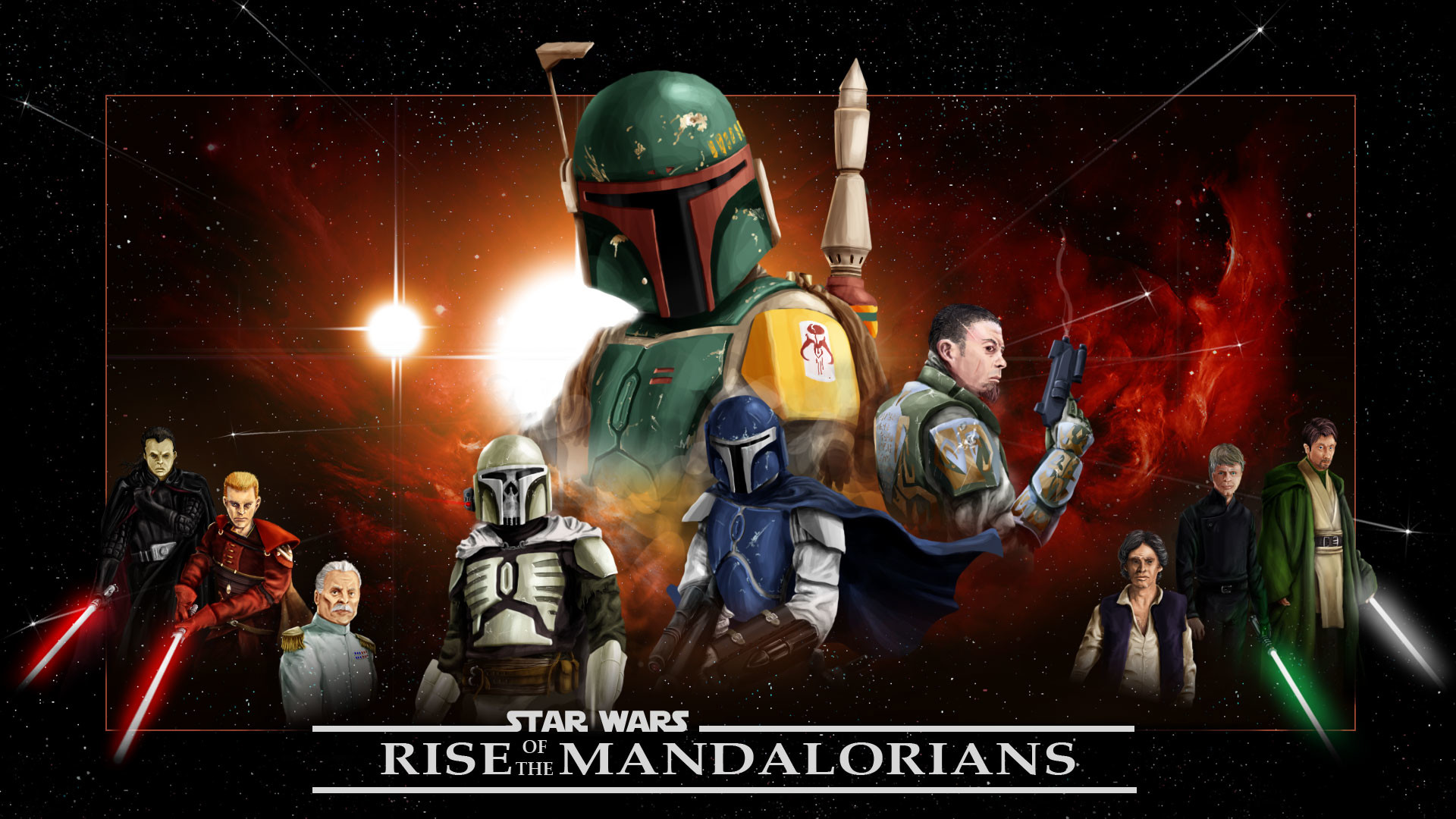 1920x1080 Mandalorians mod for Star Wars: Empire at War: Forces of Corruption .