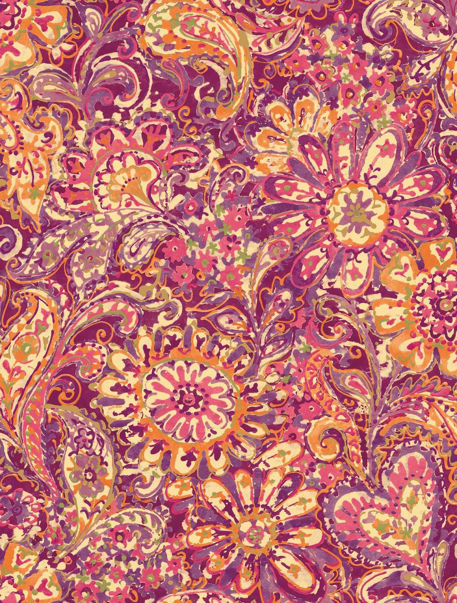 pink paisley wallpaper 35 images