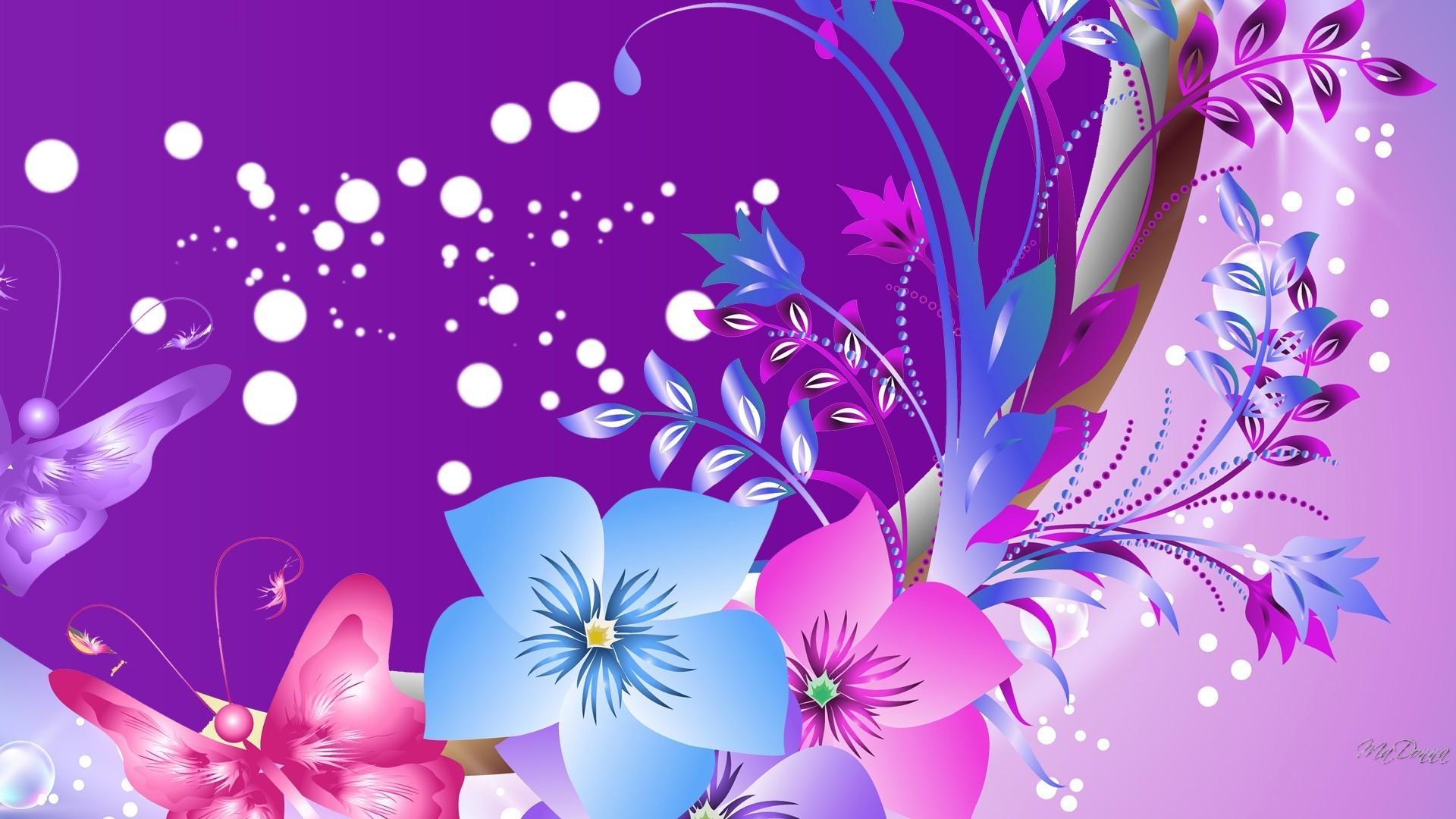 Purple butterfly wallpaper - photo#41
