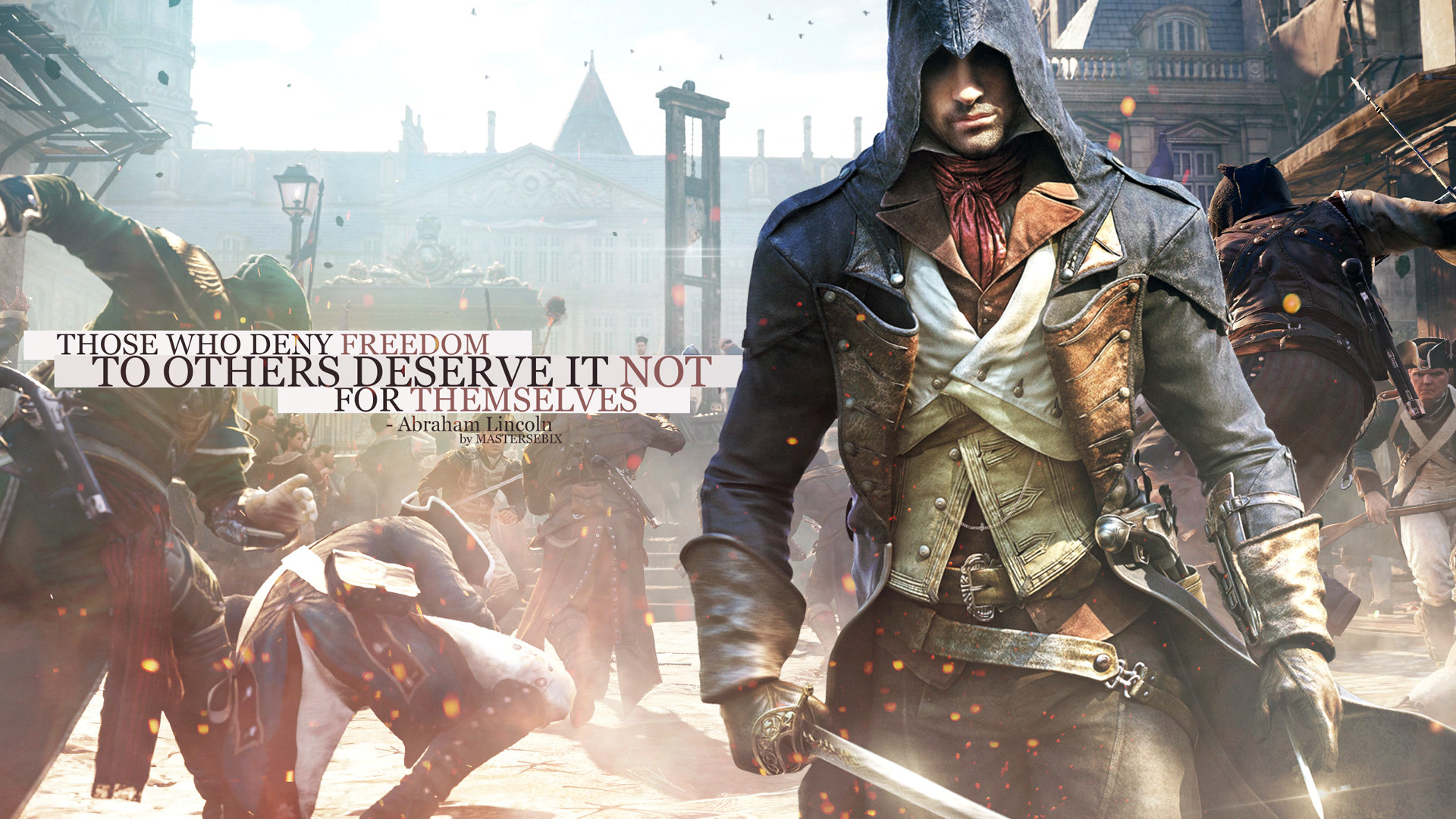 1920x1080 Assassin's Creed Unity Arno Dorian action