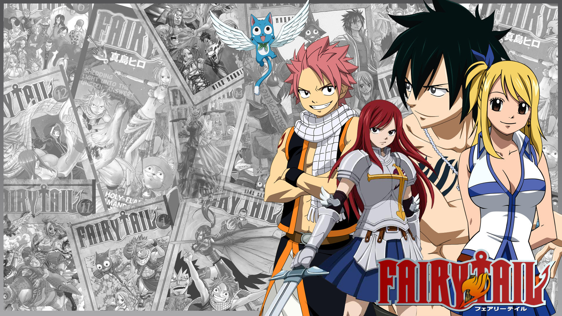 1920x1080  Ewallpaper Hub brings Fairy Tail Wallpaper in high resolution for  you. We collect premium