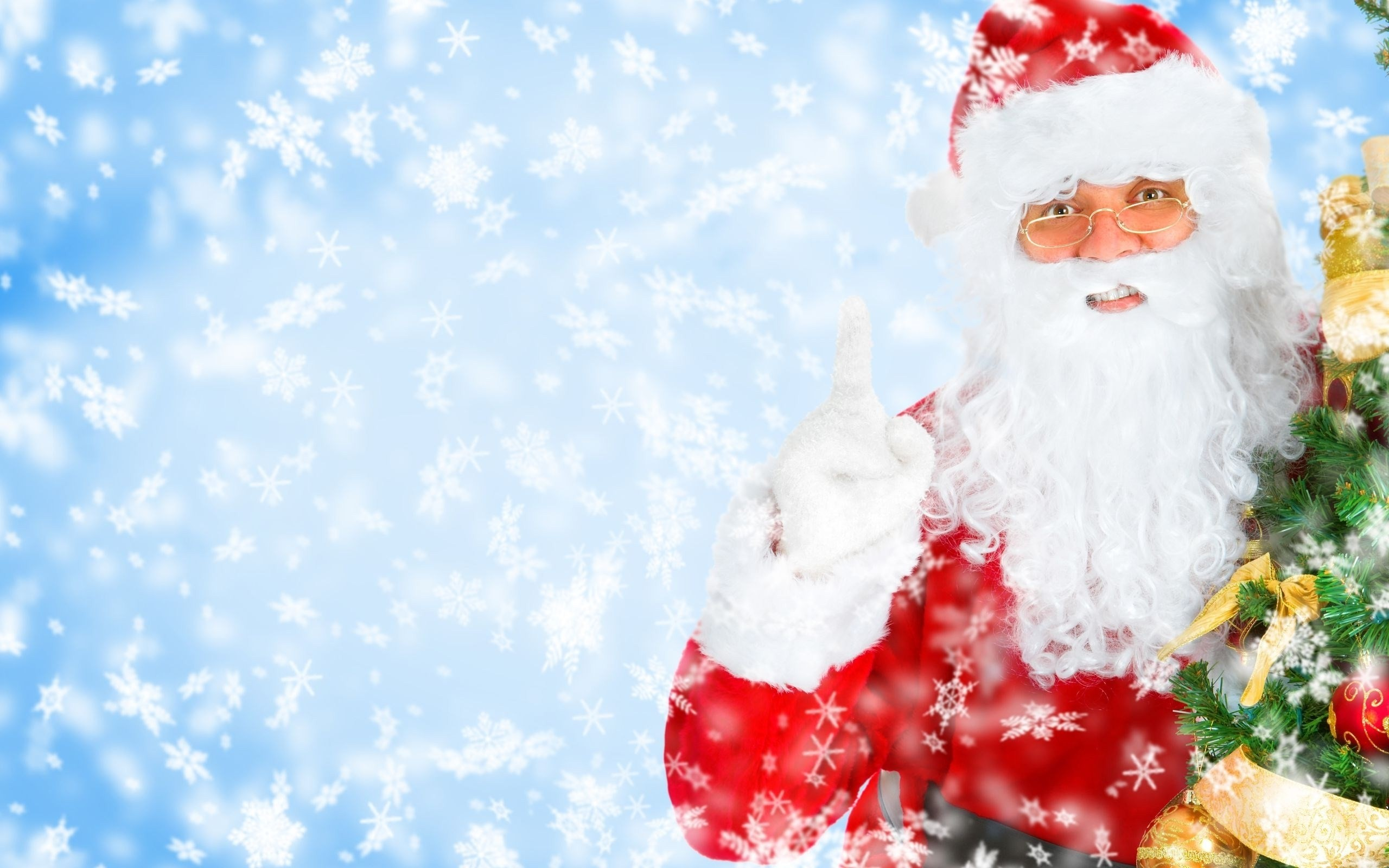 2560x1600 Christmas Santa Claus HD Images Christmas Santa Claus Photo