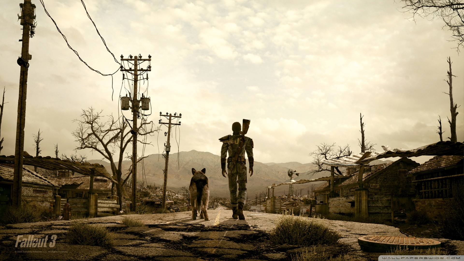 1920x1080 fallout_3_man_and_his_dog-wallpaper--by-KillerJack666