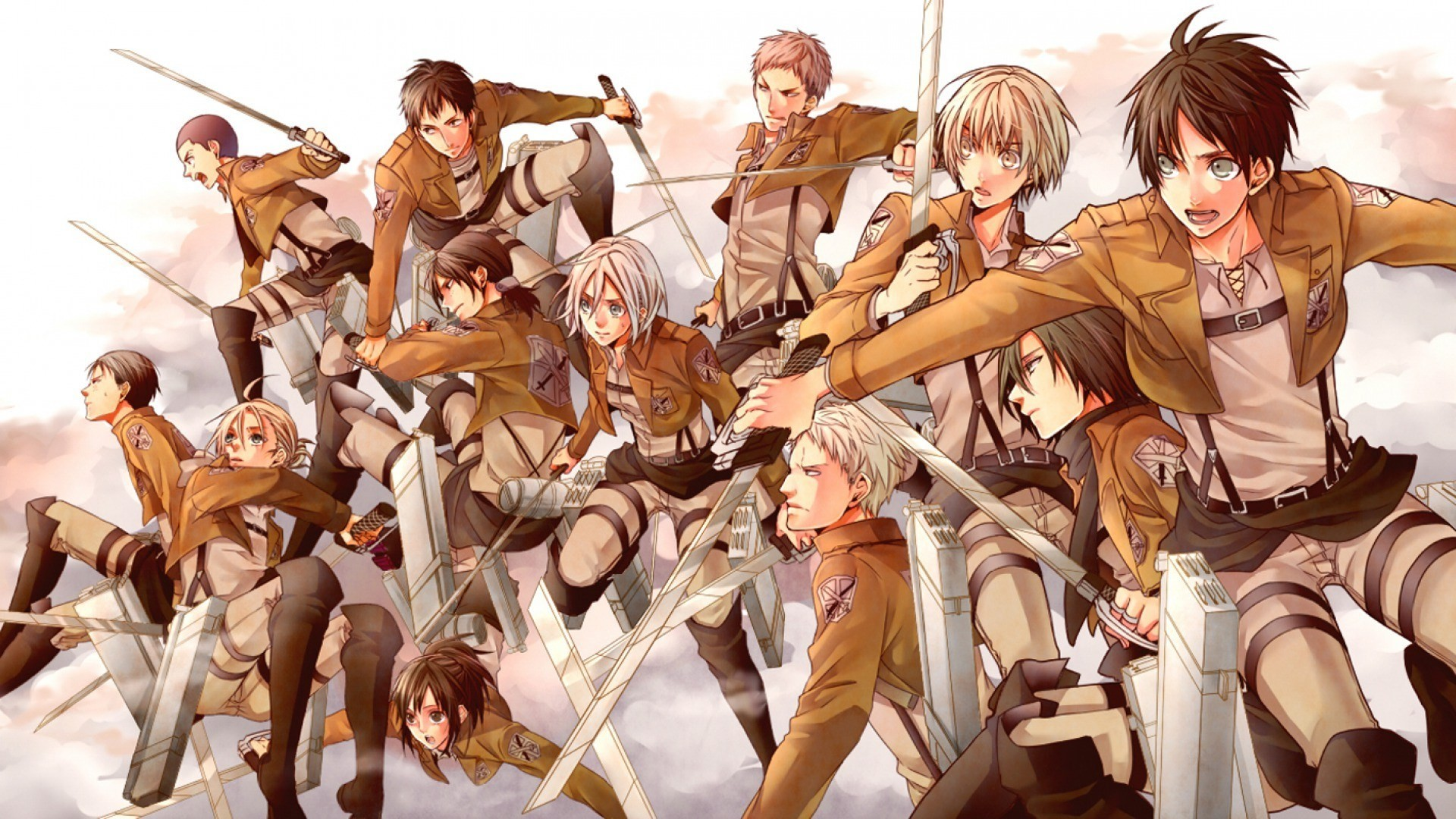 1920x1080 Widescreen Wallpaper: attack on titan