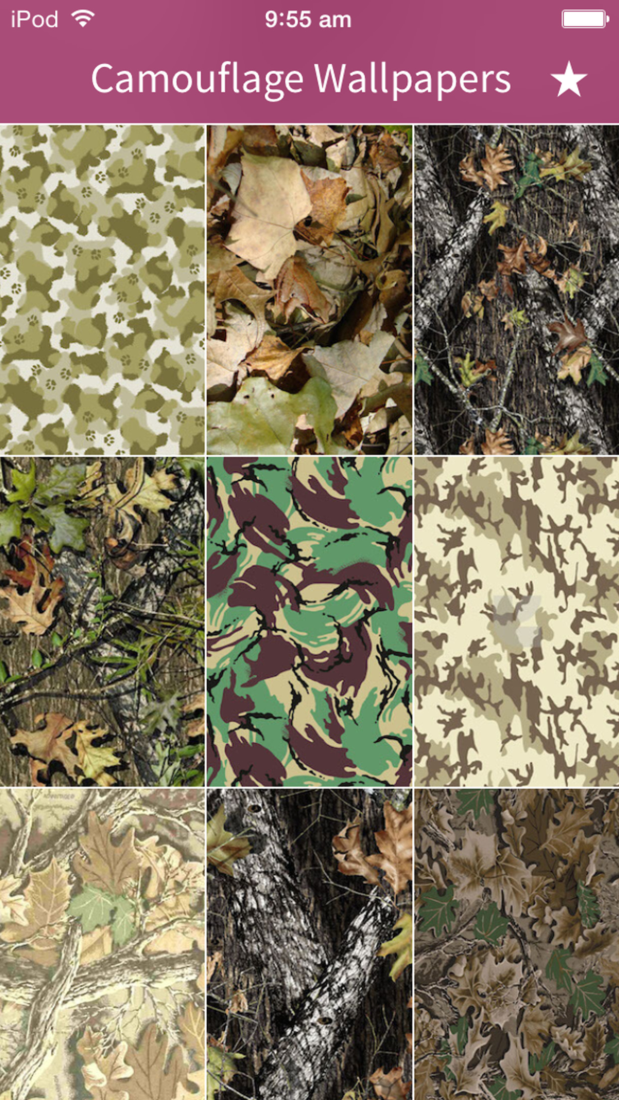 1242x2208 Camouflage Wallpapers HD 2015