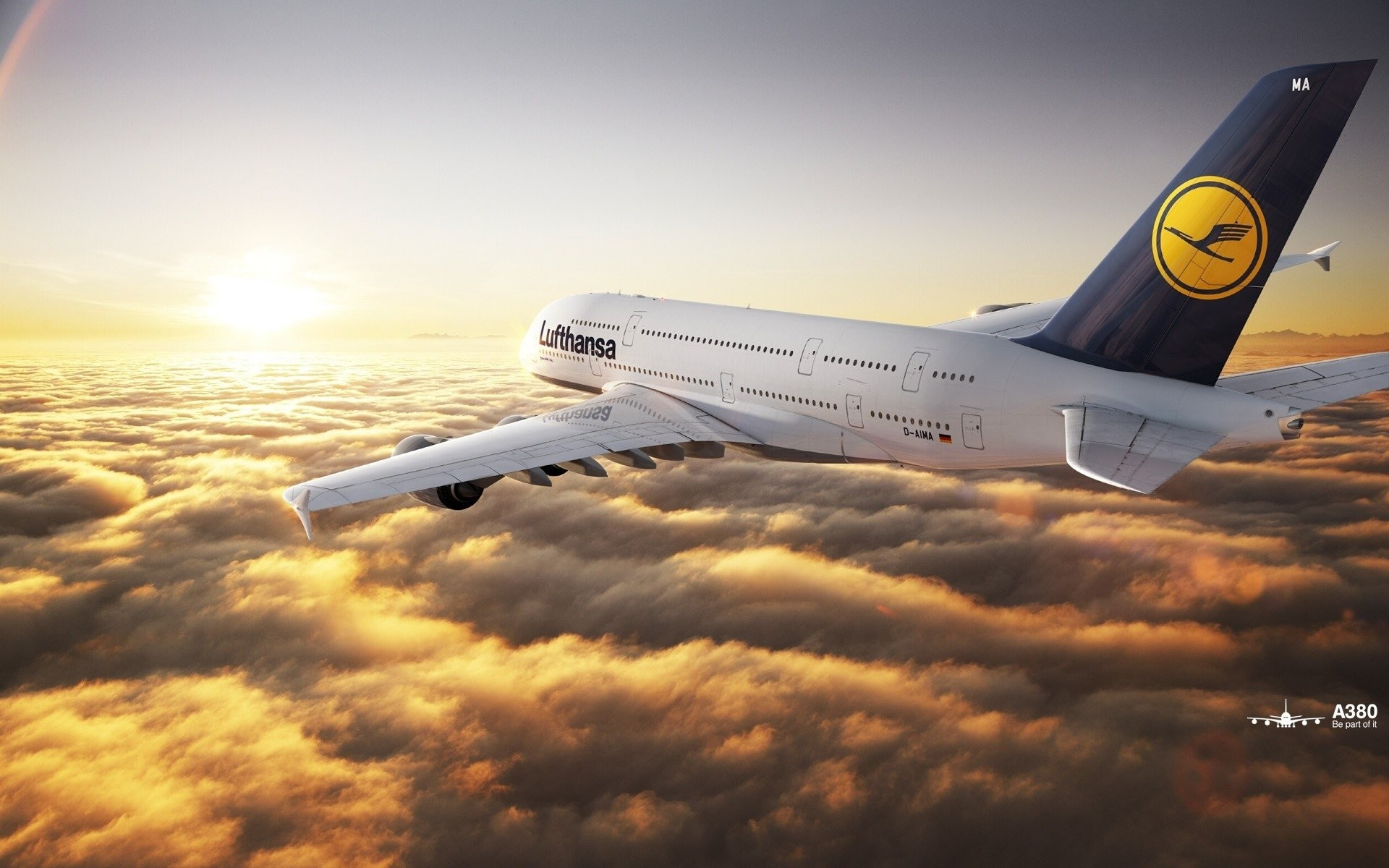 1920x1200 Vehicles - Airbus A380 Wallpaper