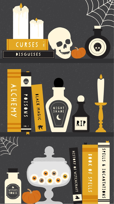Cute Halloween iPhone Wallpaper (81+ images)