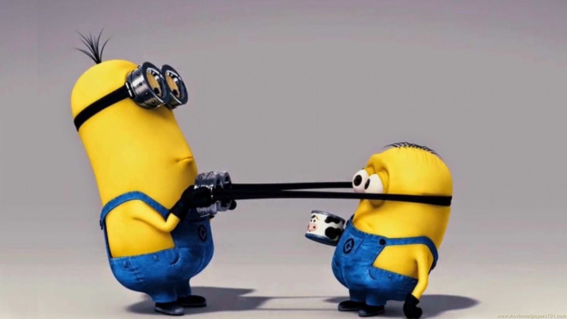 1920x1080 Download Minions Kevin And Bob Funny Cartoon HD Wallpaper. Search more .