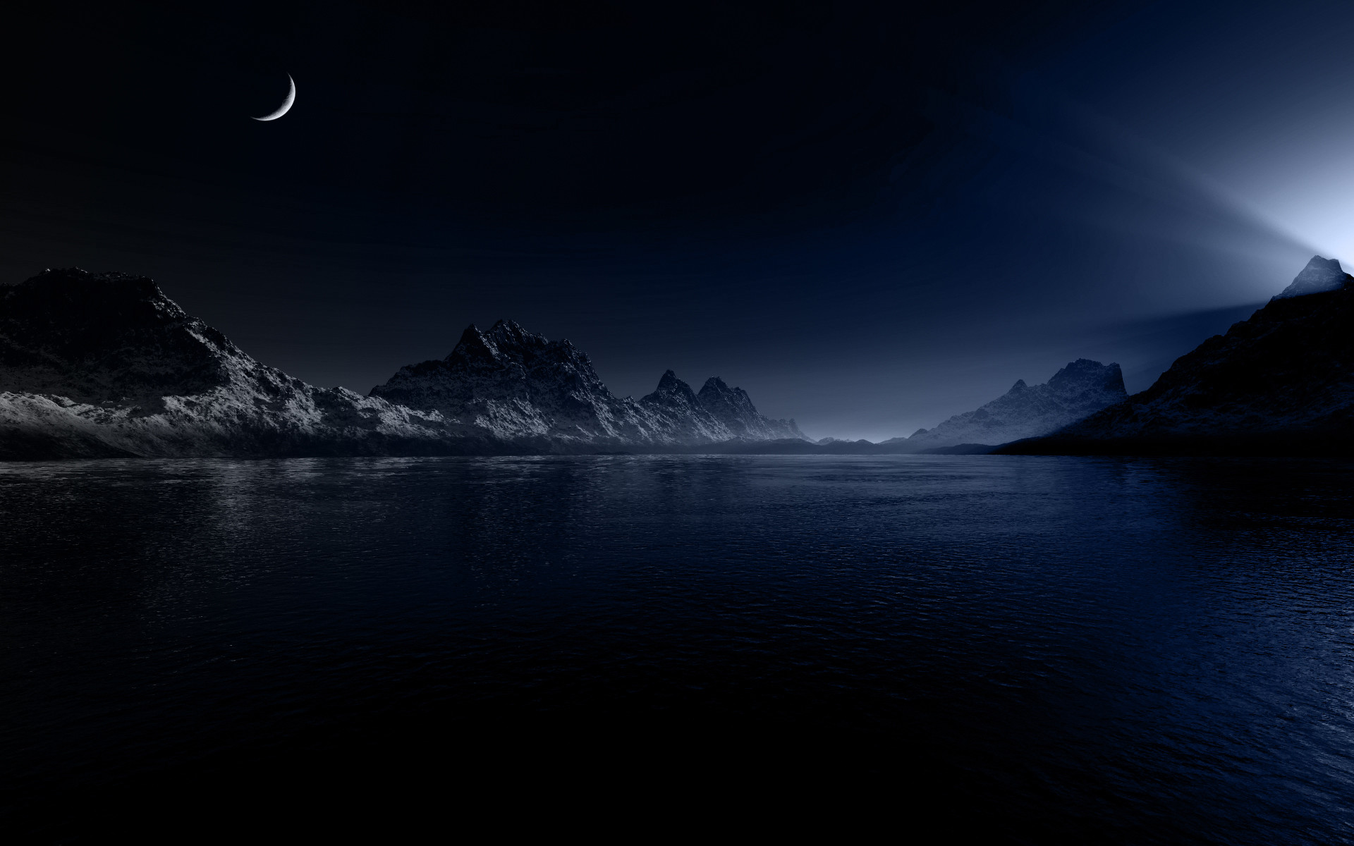 1920x1200 Landscapes Night Wallpaper 1920X1200 Landscapes, Night, ...