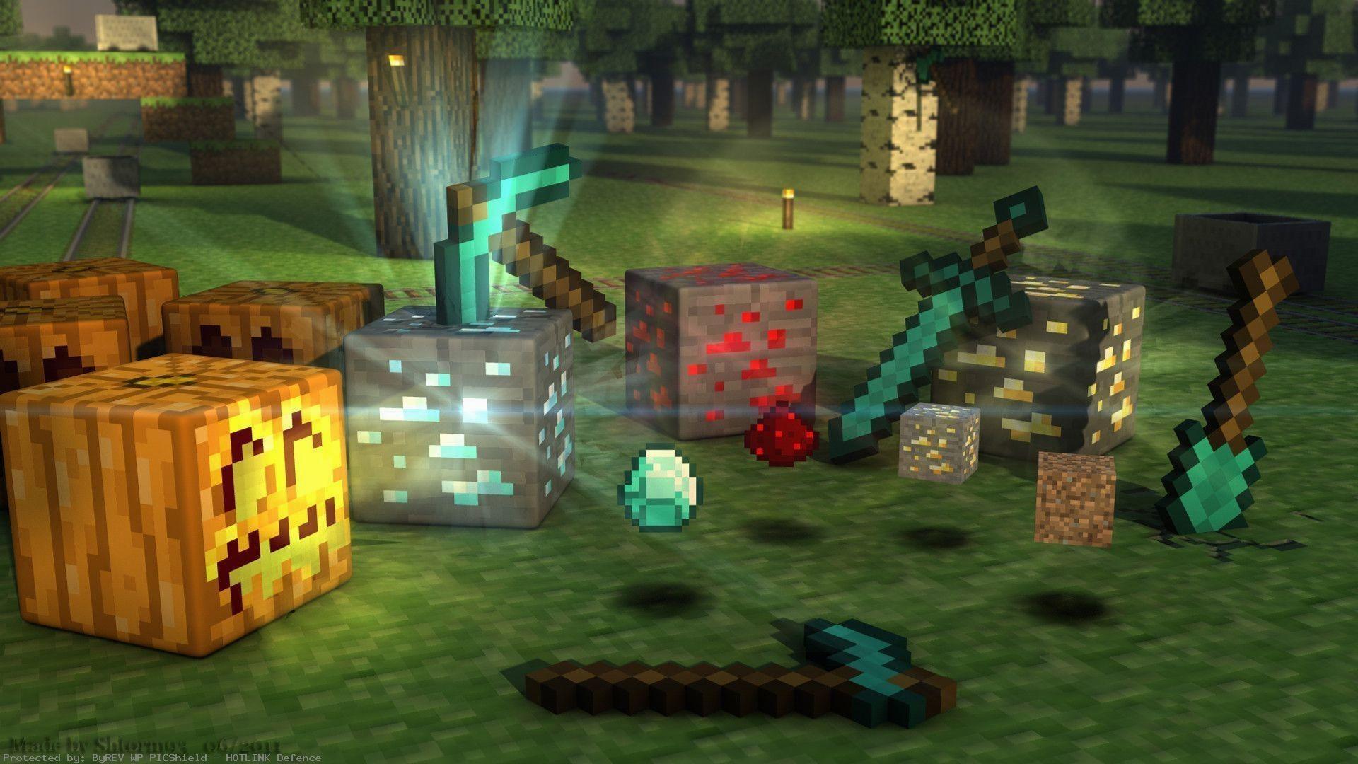 Minecraft HD Wallpaper Images - Minecraft computerspiele