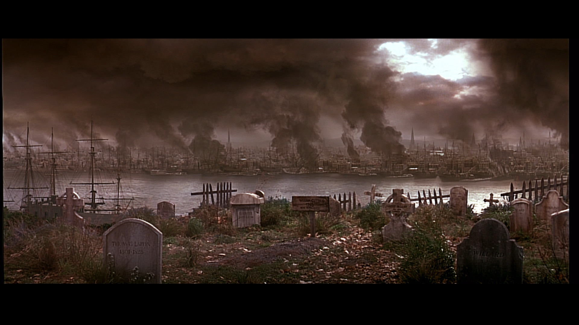 1920x1080 Gangs of New York (2002) end scene, New York City Draft Riots Aftermath
