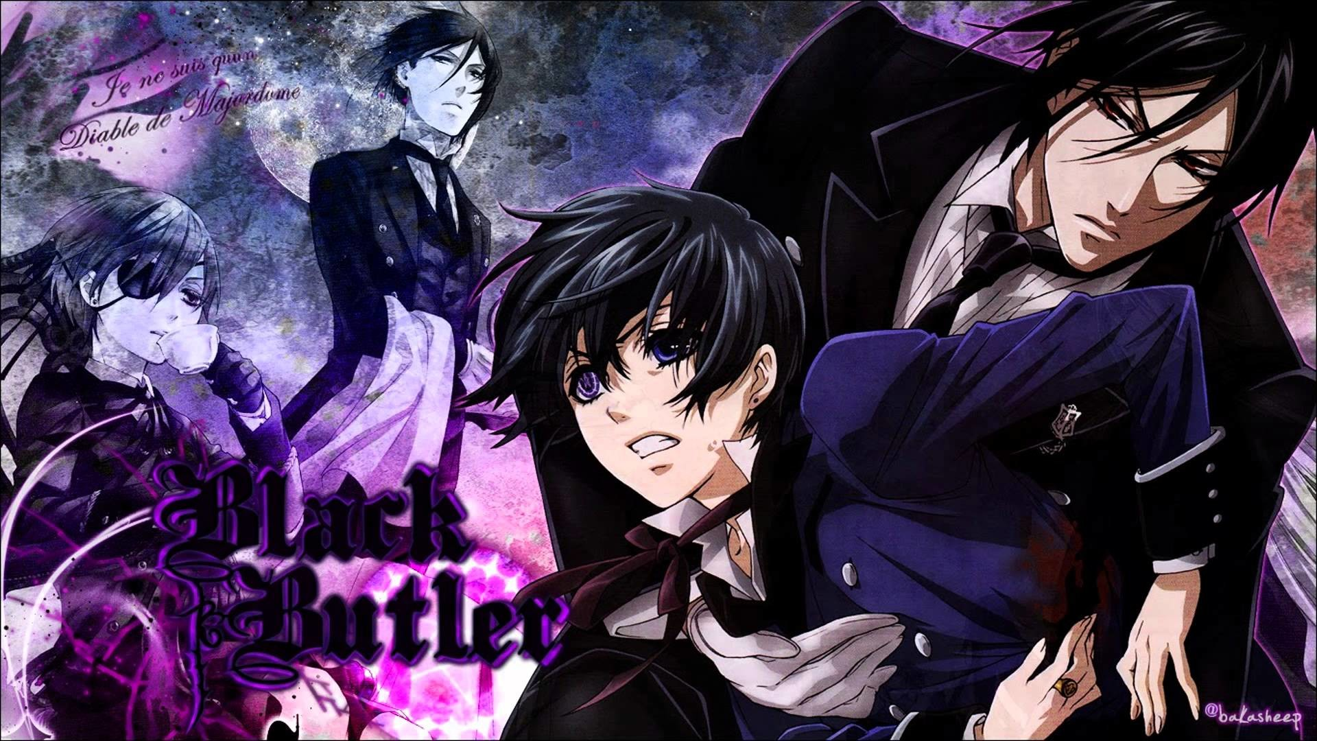 1920x1149 black butler wallpaper black butler characters pictures