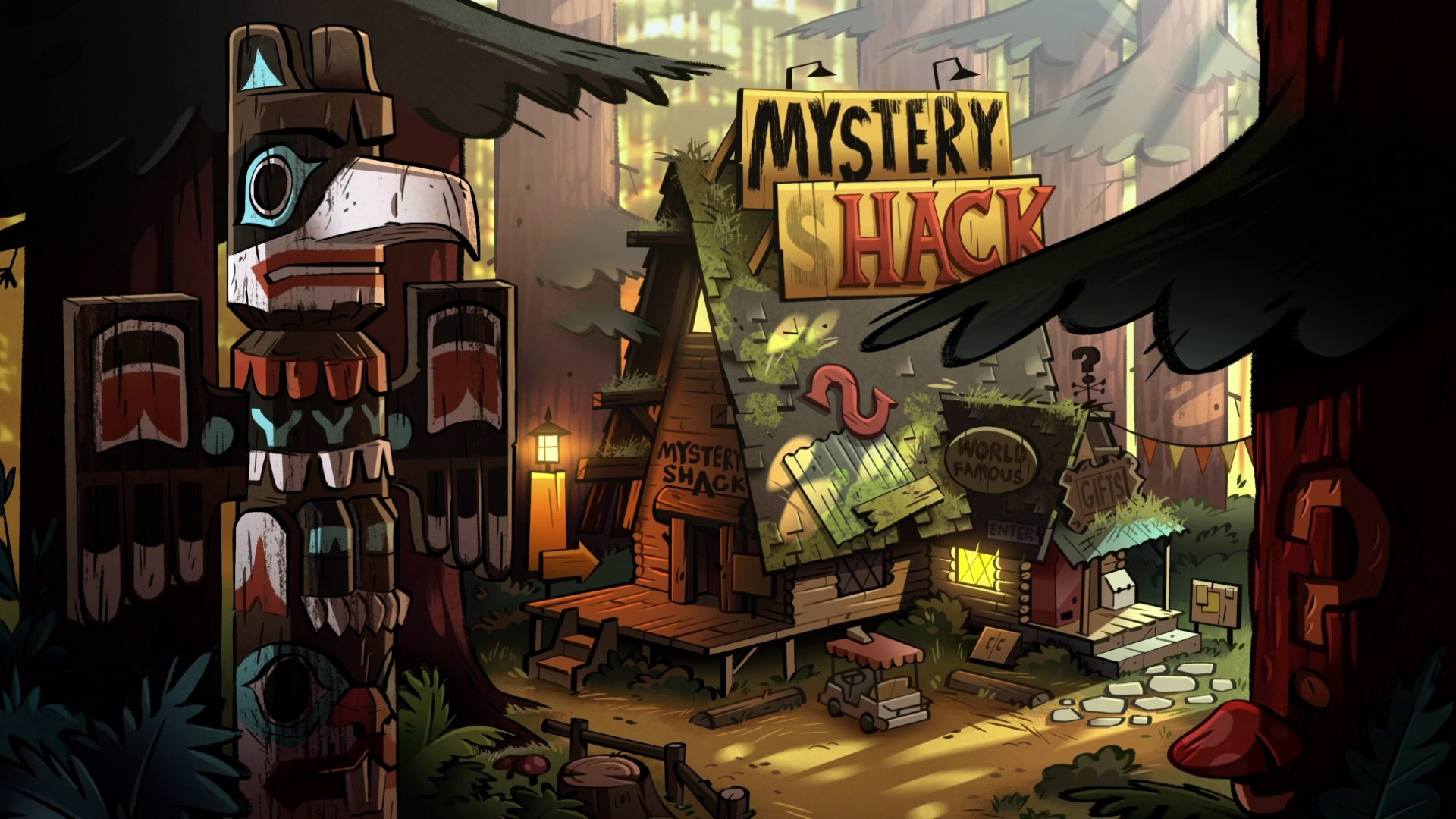 1920x1080 gravity falls pic - Full HD Wallpapers, Photos, Hiraldo Gill 2017-03-