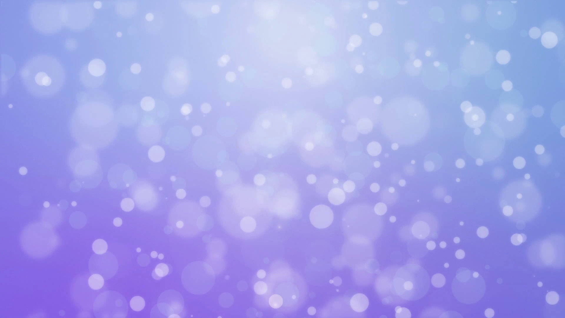 1920x1080 Dreamy purple blue gradient animated background with floating glowing bokeh  lights