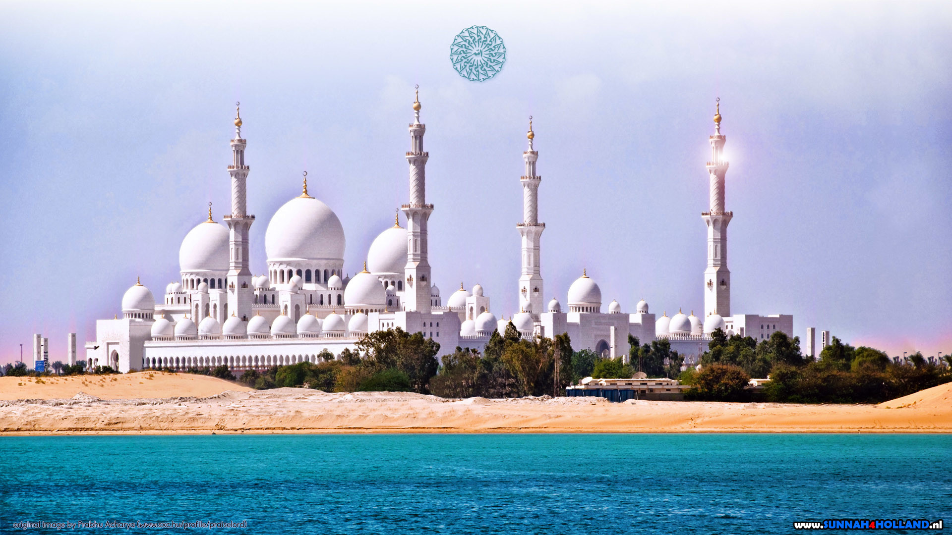 1920x1080 Sheikh Zayed Mosque of Abu Dhabi (may Allah rest his soul)