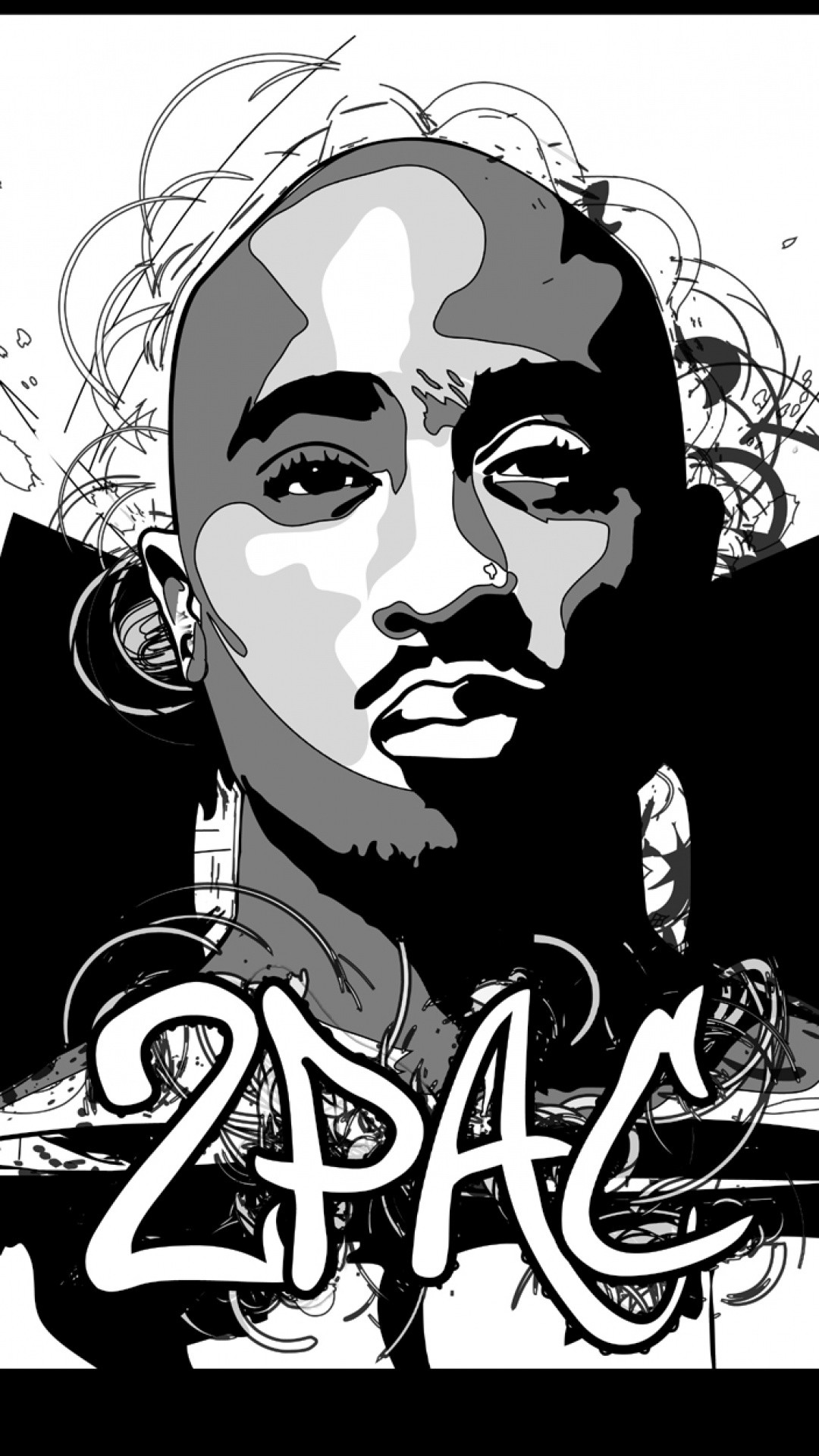 1080x1920 2Pac Download Wallpaper For IPhone