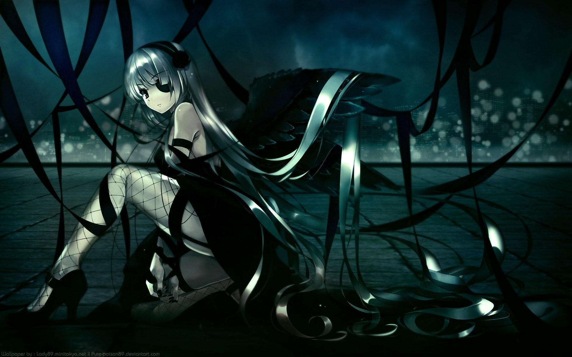 Gothic anime wallpaper 69 images - Dark anime background ...