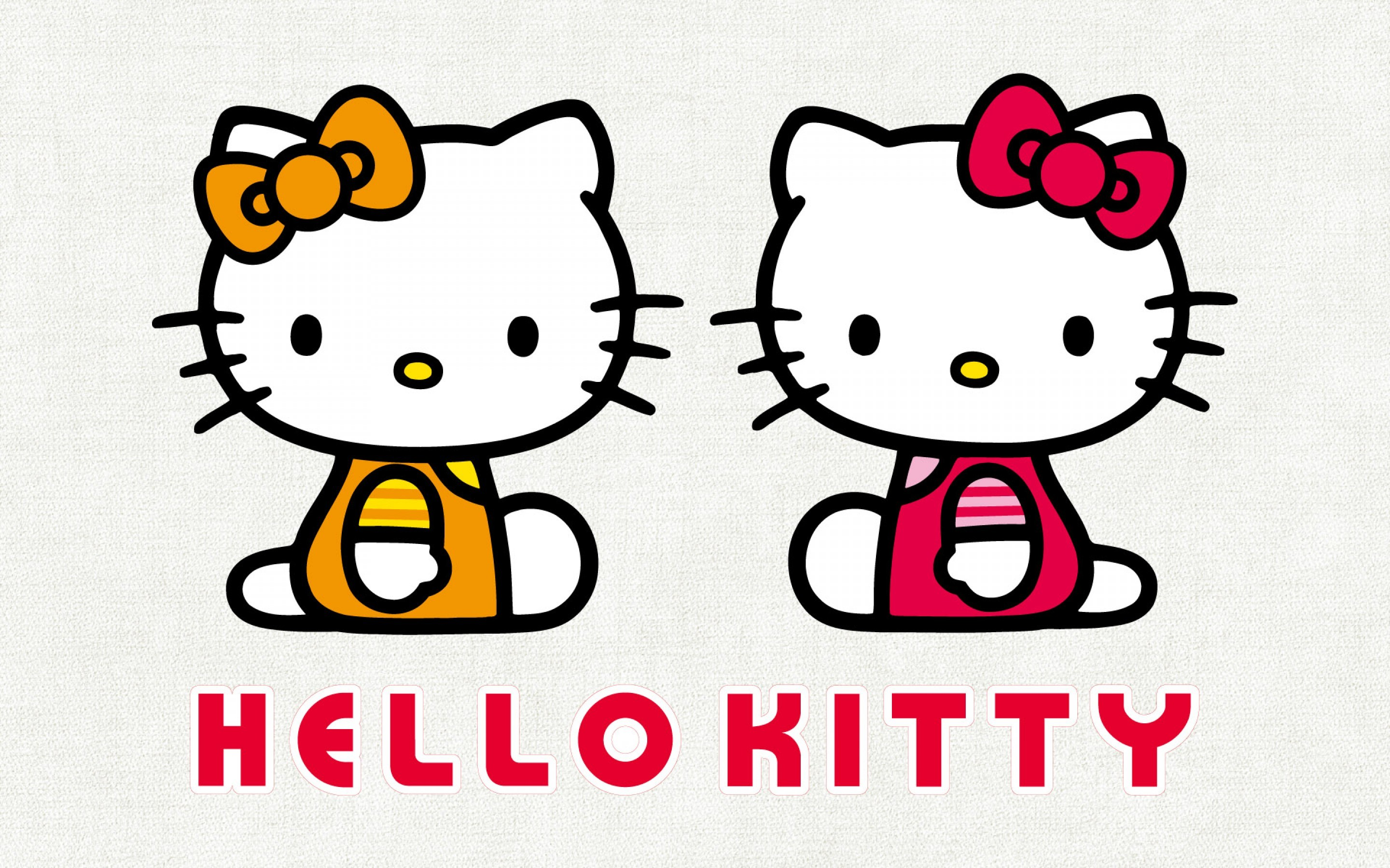 2880x1800 ... Hello Kitty Wallpaper - with her twin sister Mimmy