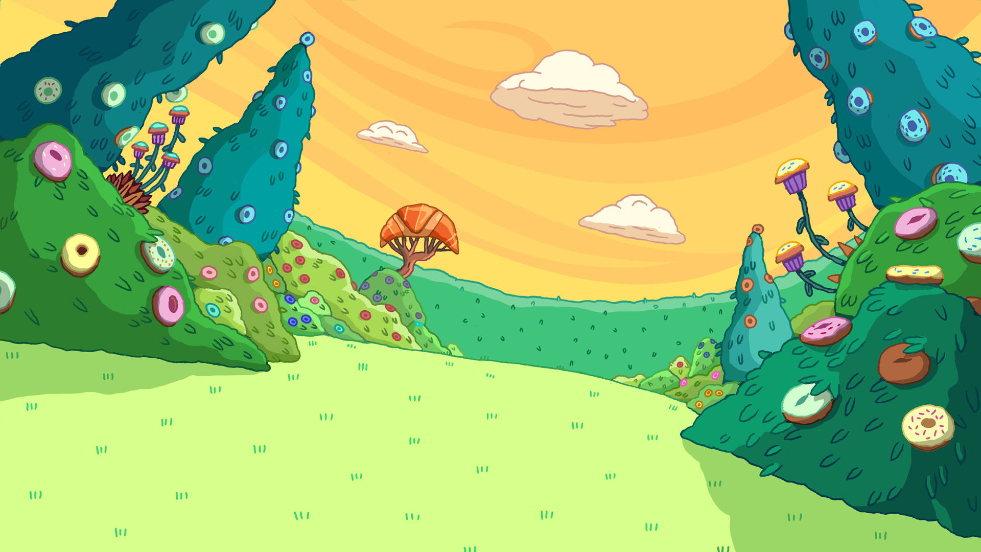 1920x1080 Adventure Time Background wallpaper