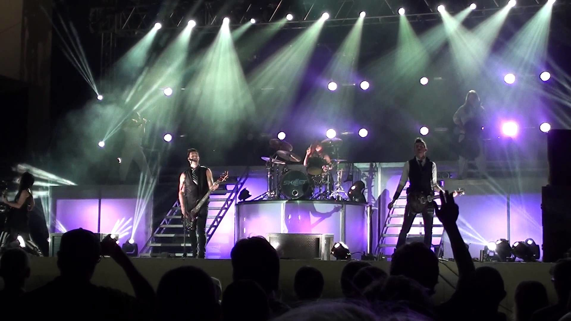 1920x1080 Skillet - The Last Night - New Show! - HD Video! - Live @ Kingsfest 2013