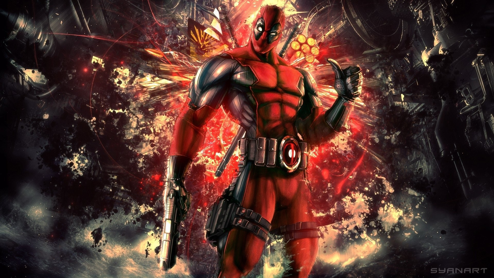 1920x1080 HD Wallpaper | Hintergrund ID:417300.  Comics Deadpool