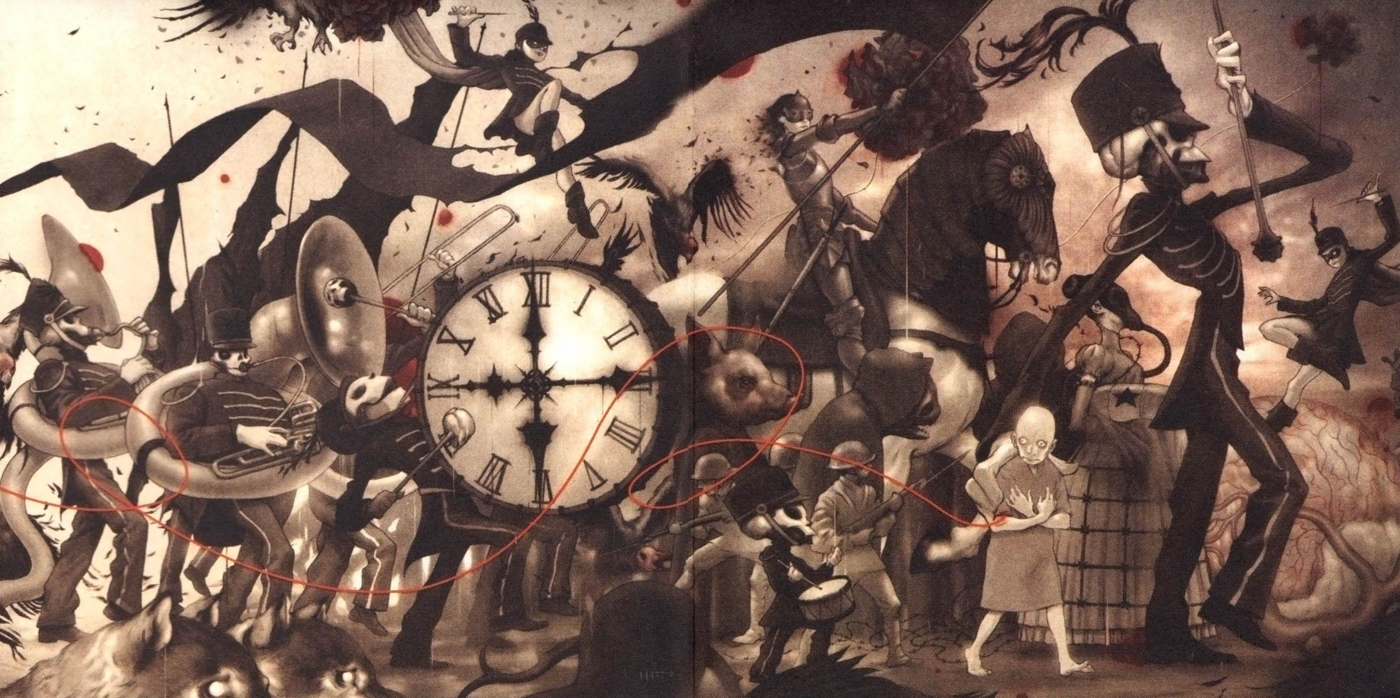 2789x1390 My Chemical Romance The Black Parade Wallpapers and Background
