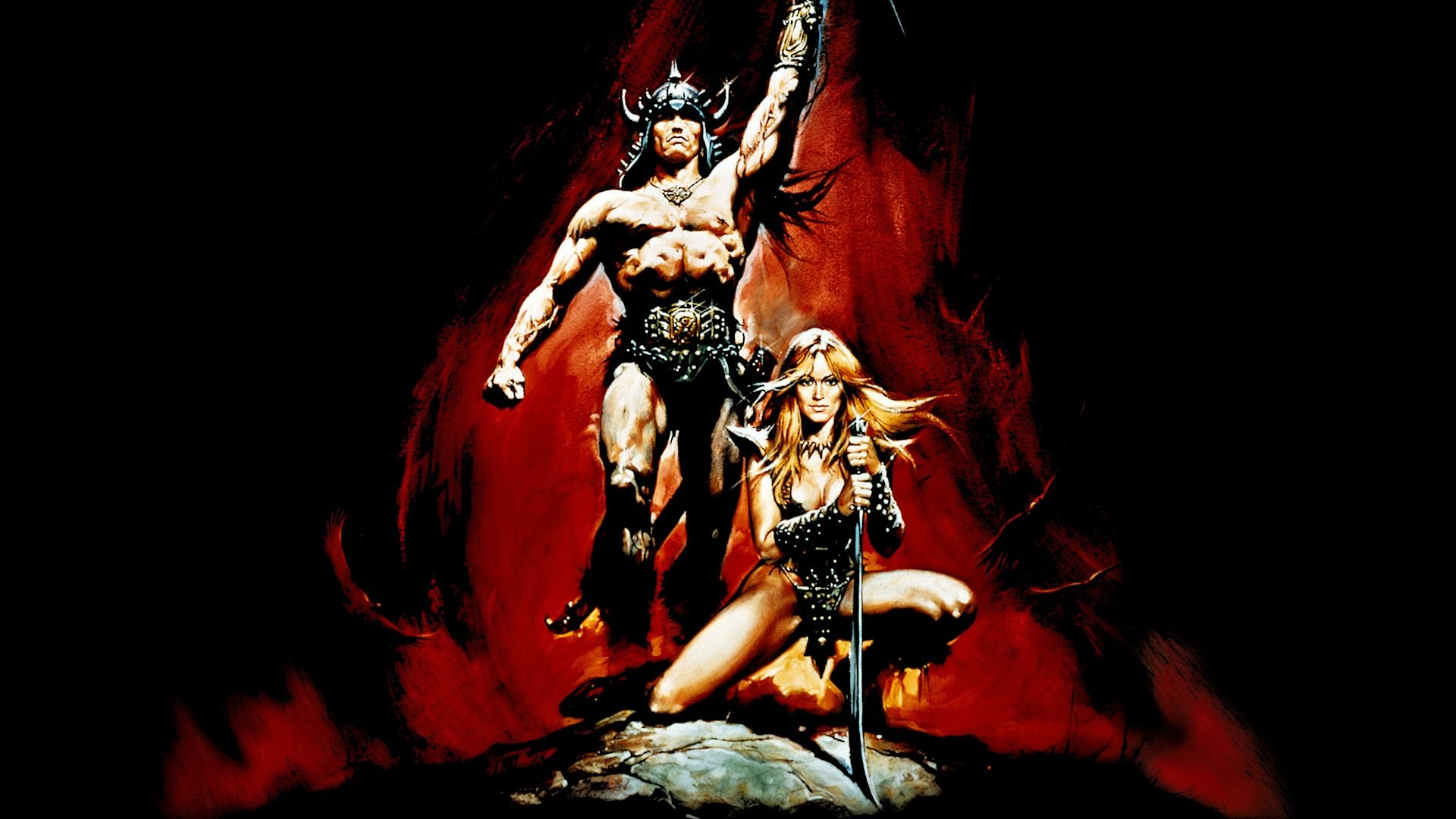 conan the barbarian hd wallpaper