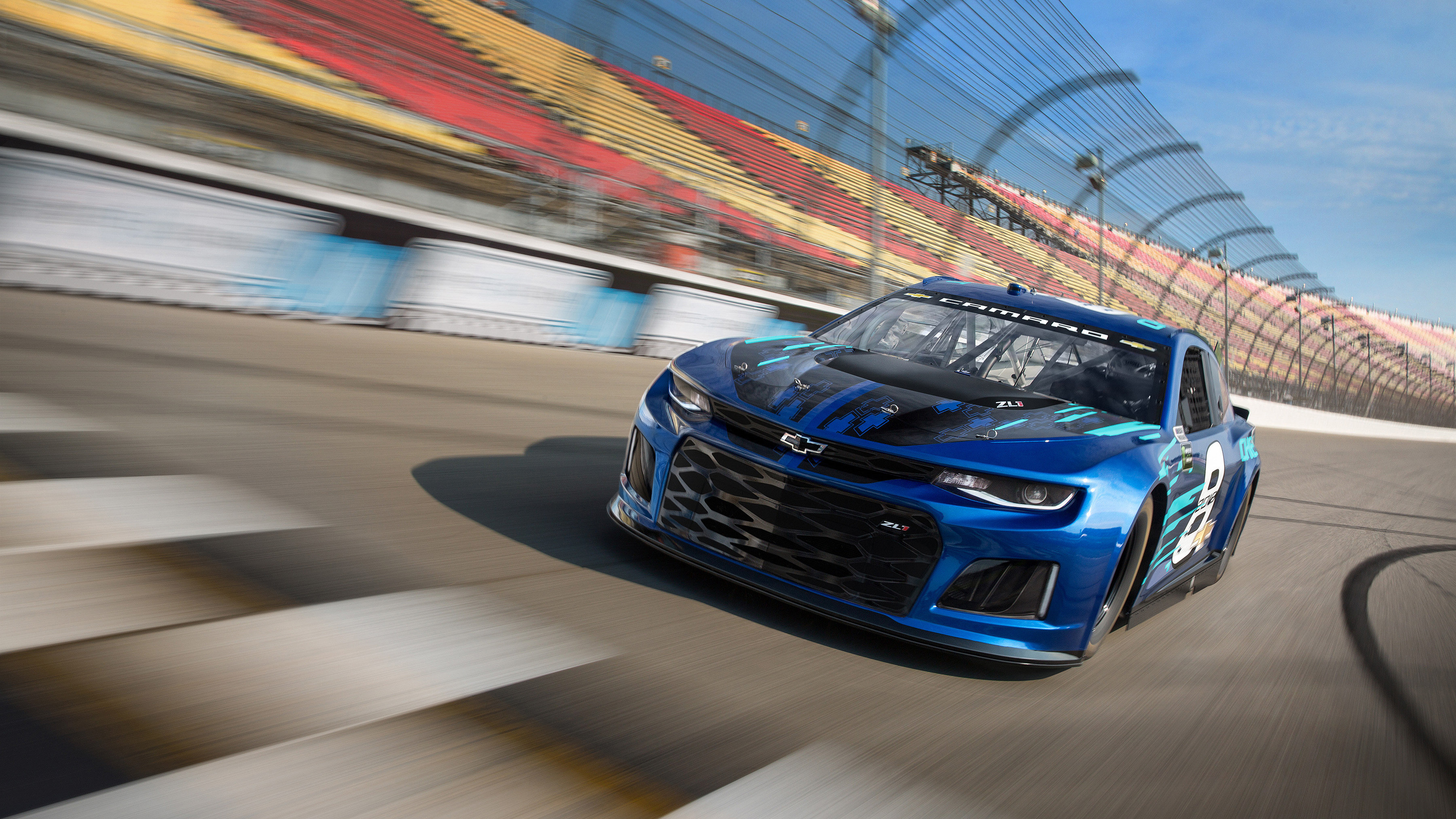 3600x2025 2018 Chevrolet Camaro ZL1 Nascar Race Car