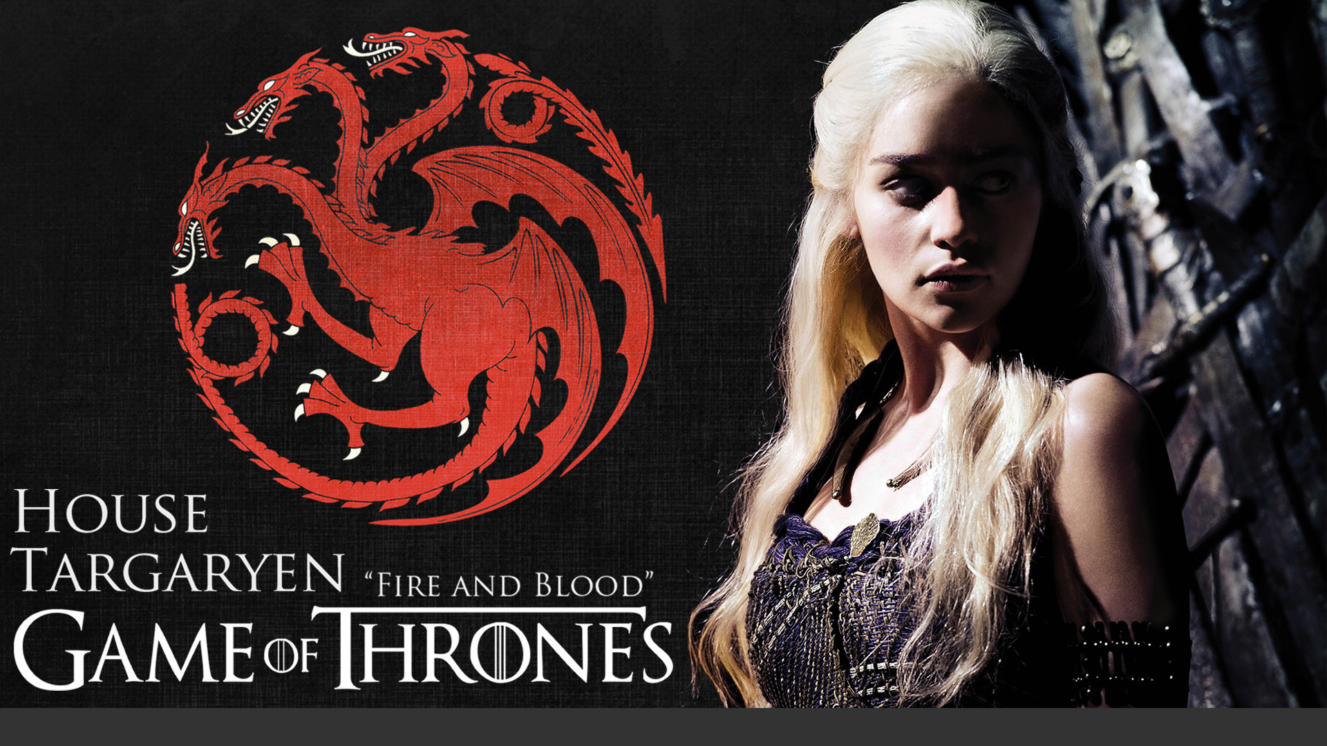 1920x1080 ... Game of Thrones: House Targaryen Wallpaper (HD) by davef30