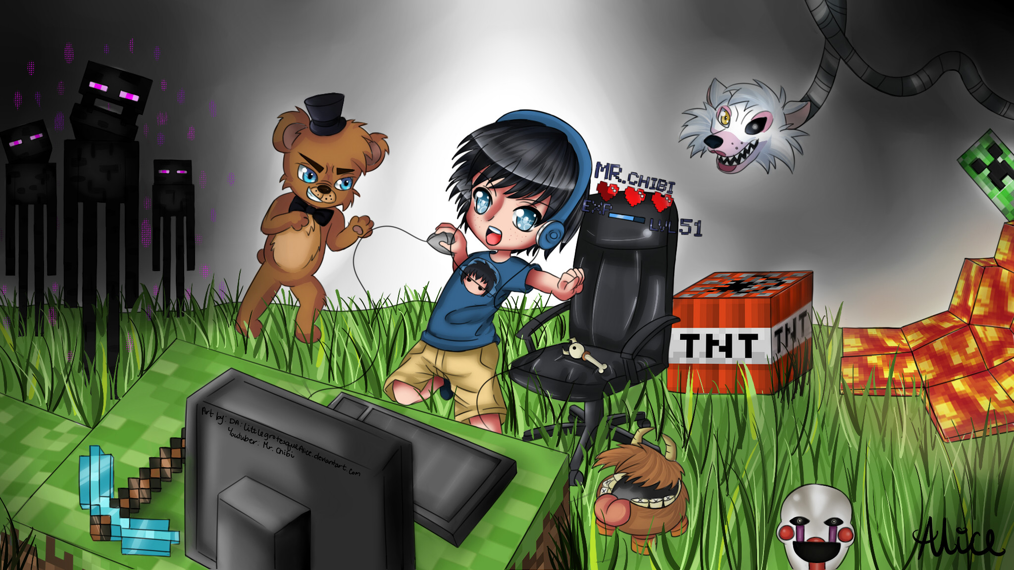 Youtube Channel Art Minecraft 2048x1152 Noahcraftftw Minecraft