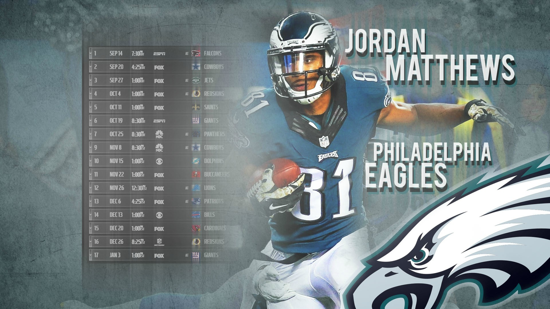 1920x1080 Matthews schedule wallpaper 2.0 ...