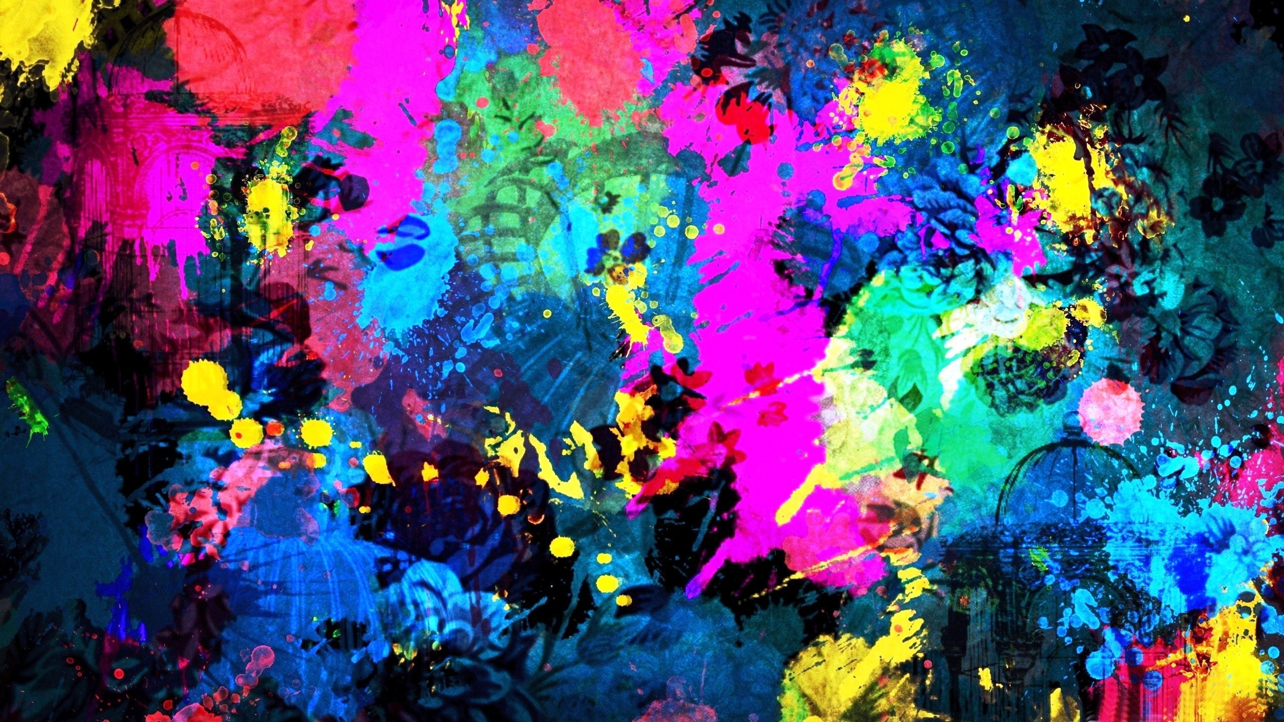 2560x1440 Abstract Art Wallpaper Hd 2853 Full HD Wallpaper Desktop - Res .