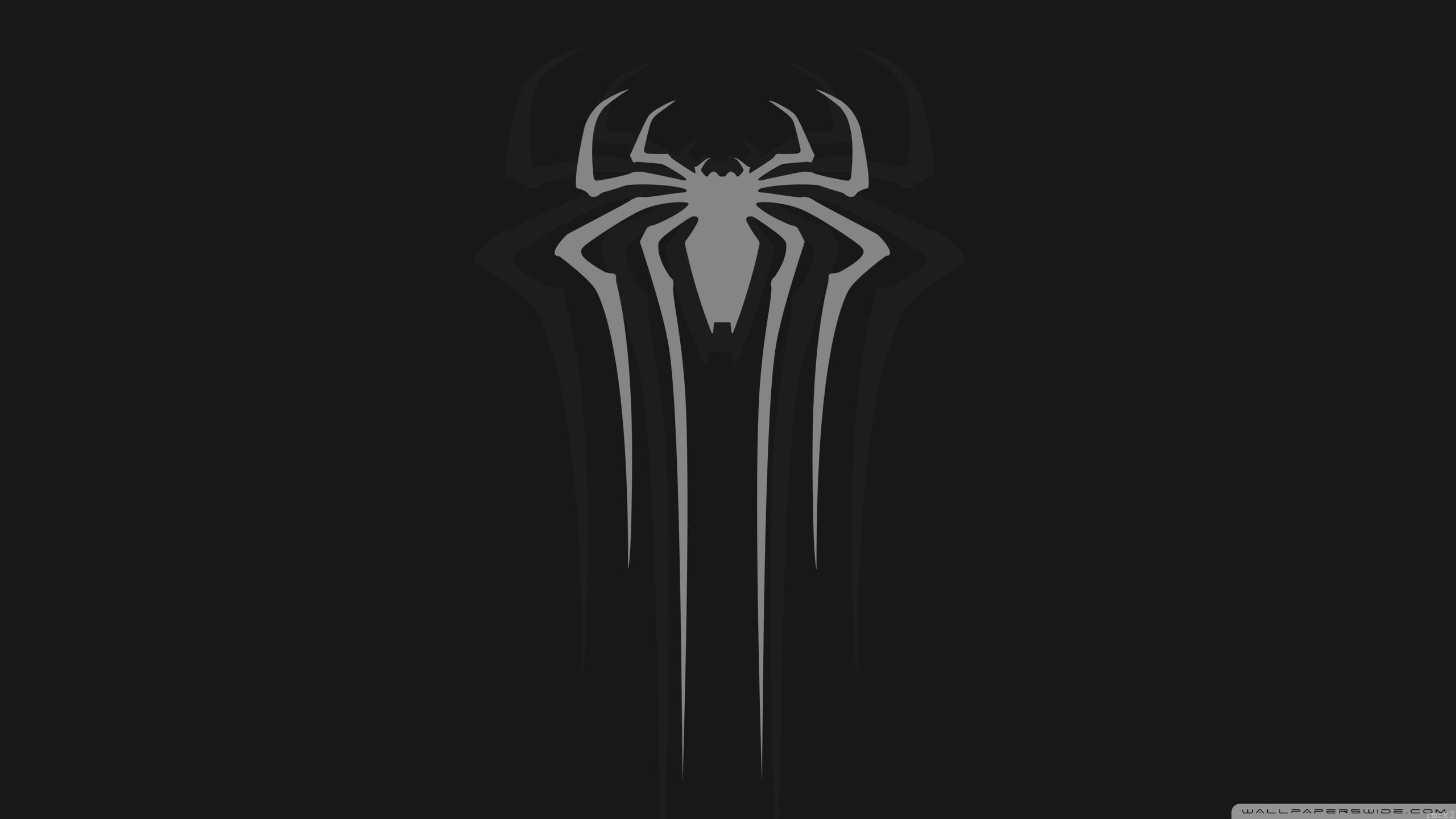 Hd spiderman logo wallpaper 71 images - Black and white spiderman wallpaper ...