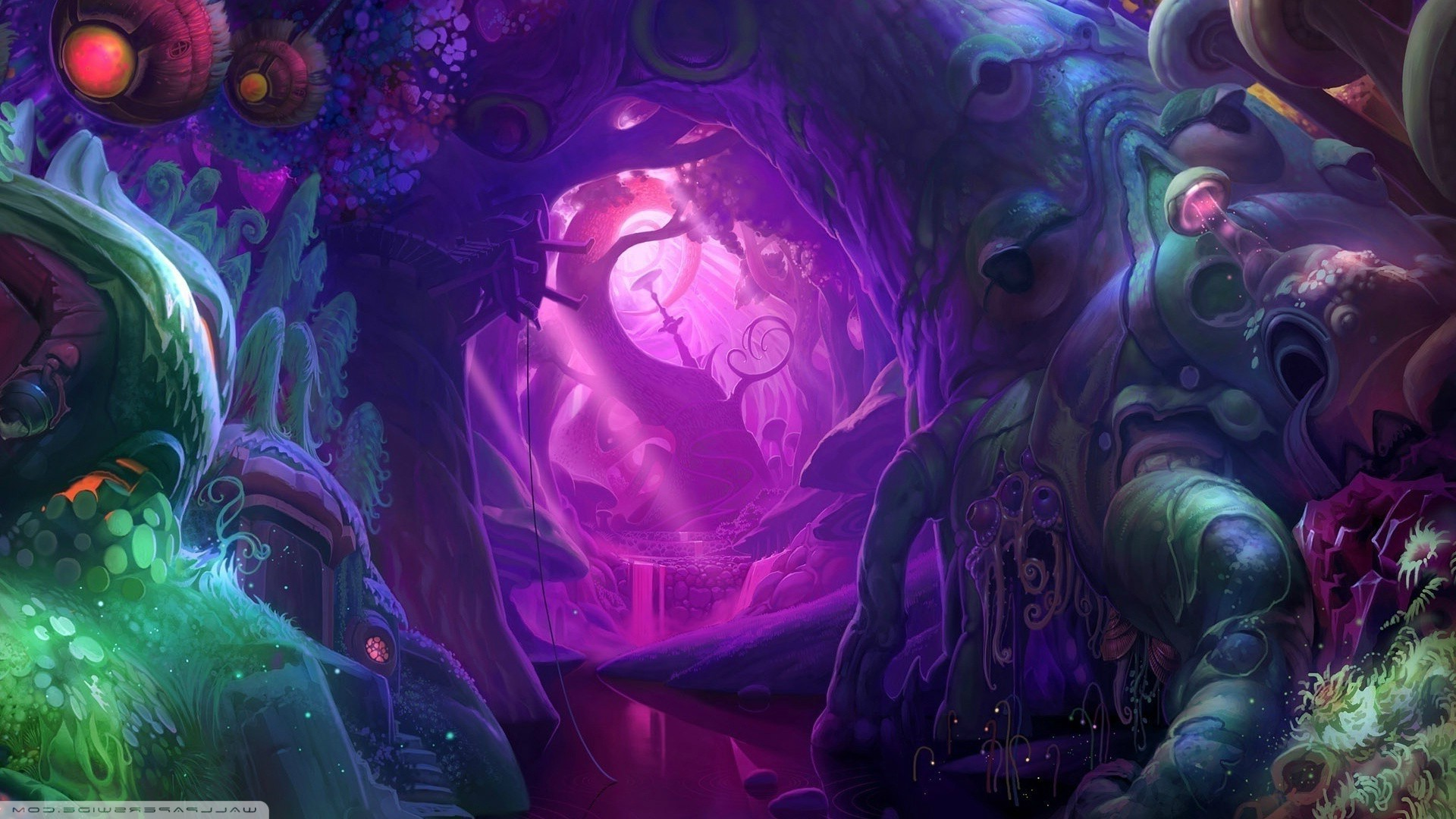 1920x1080 psychedelic, Fantasy Art Wallpapers HD / Desktop and Mobile Backgrounds