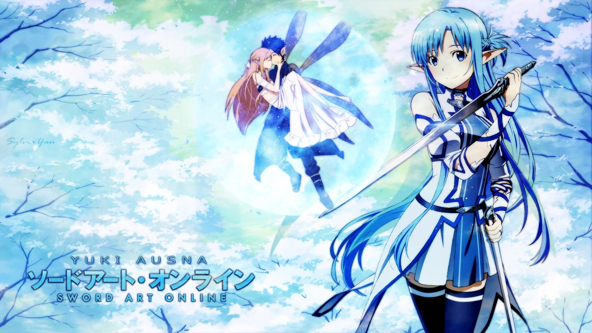 "Res: 1920x1080,  Asuna and Kirito - Sword Art Online wallpaper - Anime wallpapers  ..."">"