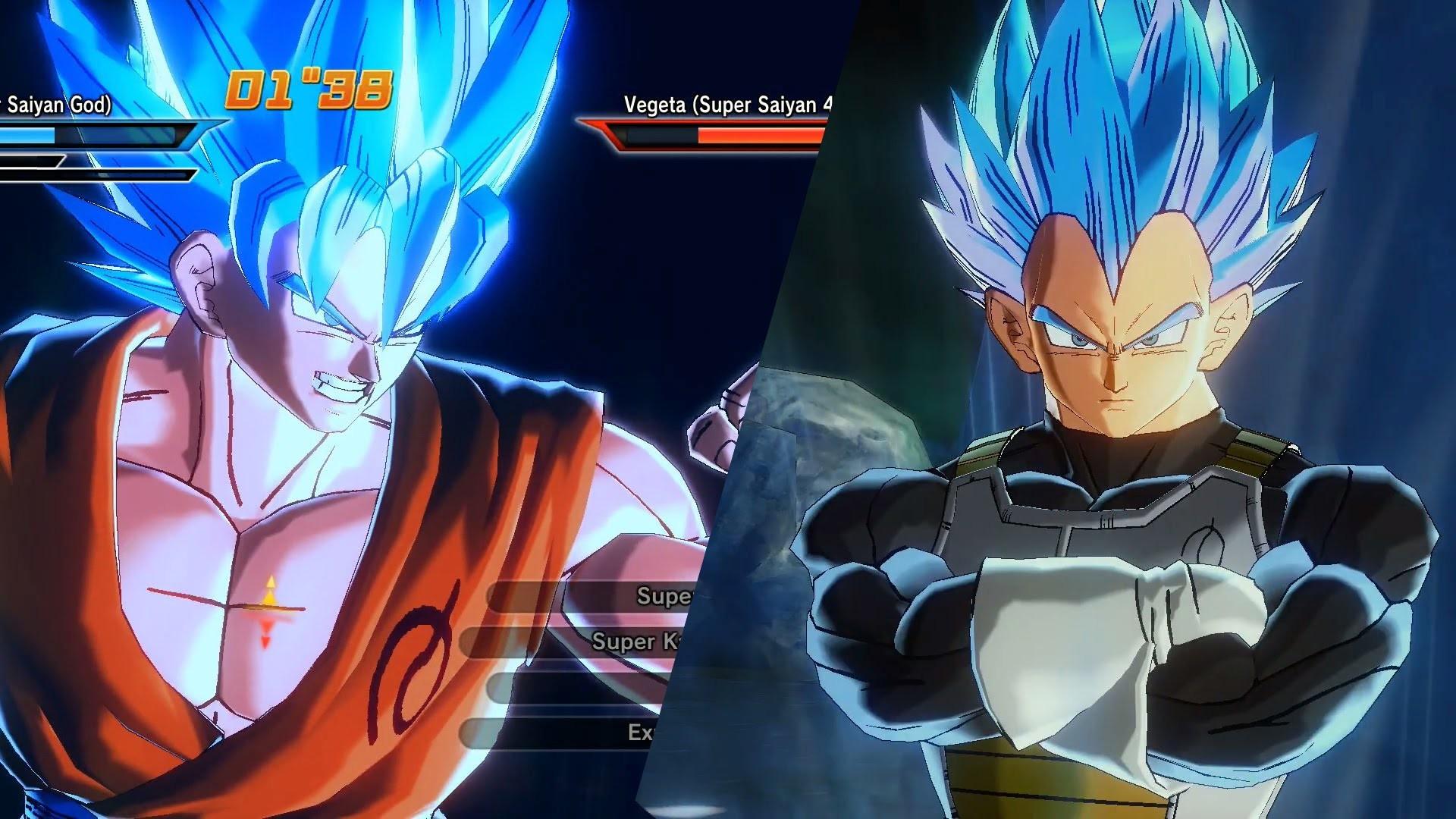 Super Saiyan 4 Goku And Vegeta Wallpapers 60  Images