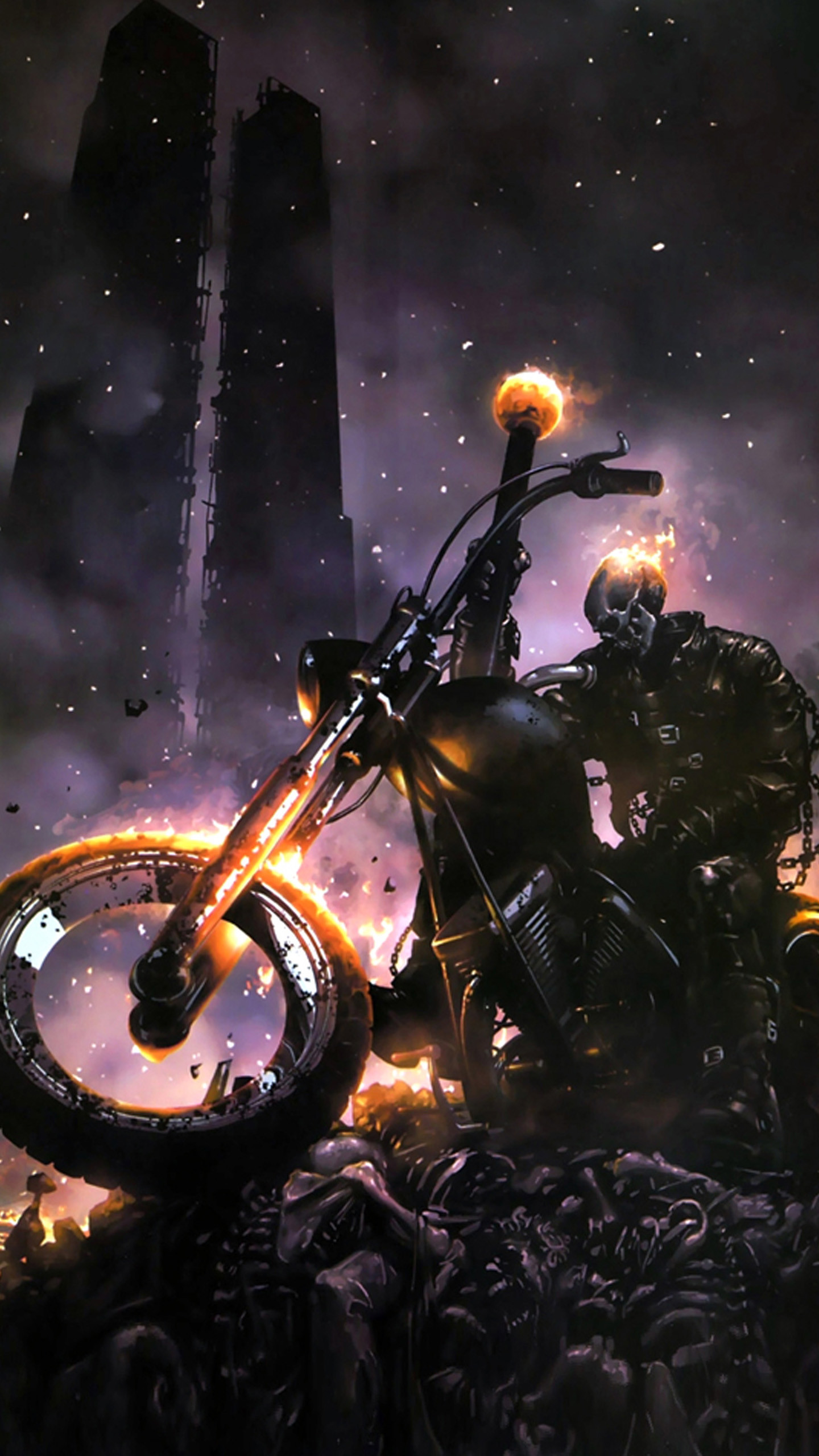 Ghost Rider Bike Wallpapers 58 Images