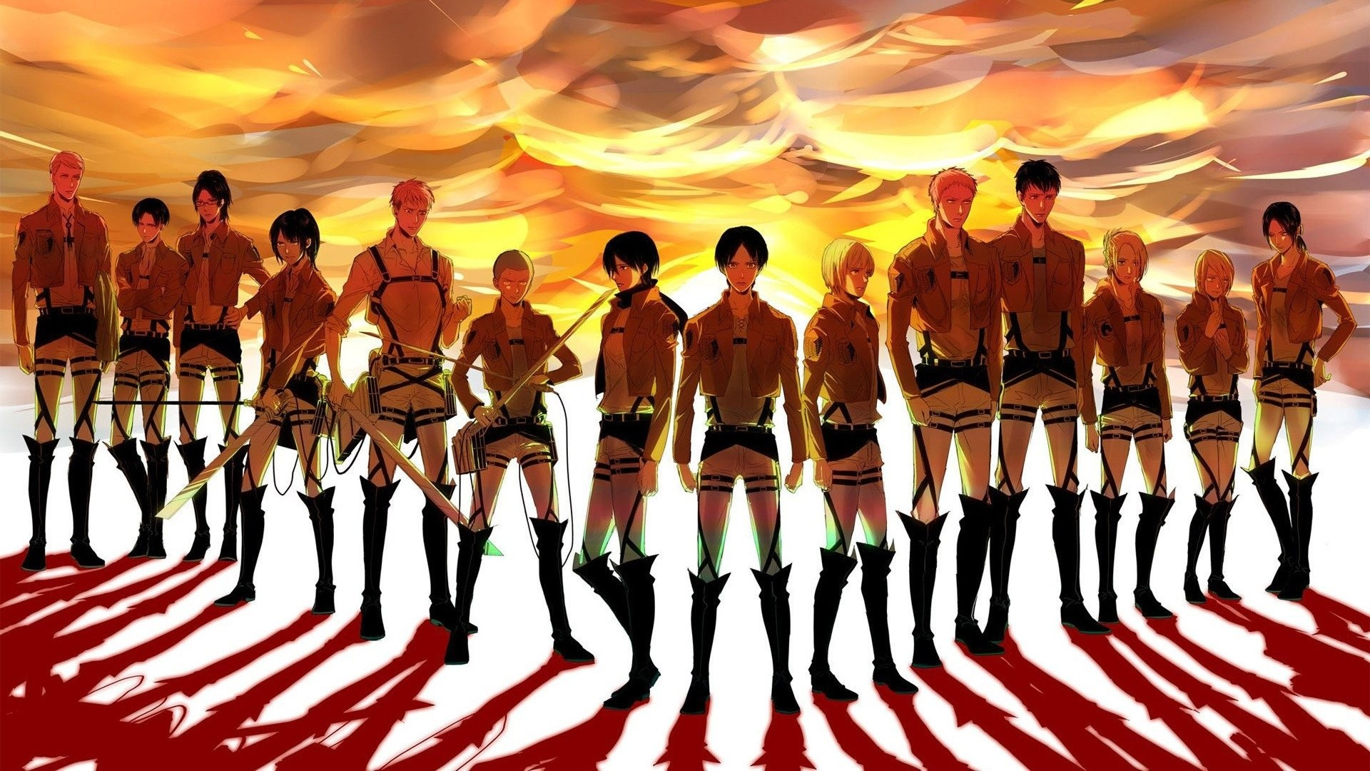 1920x1080 HD Wallpaper | Background ID:612515.  Anime Attack On Titan