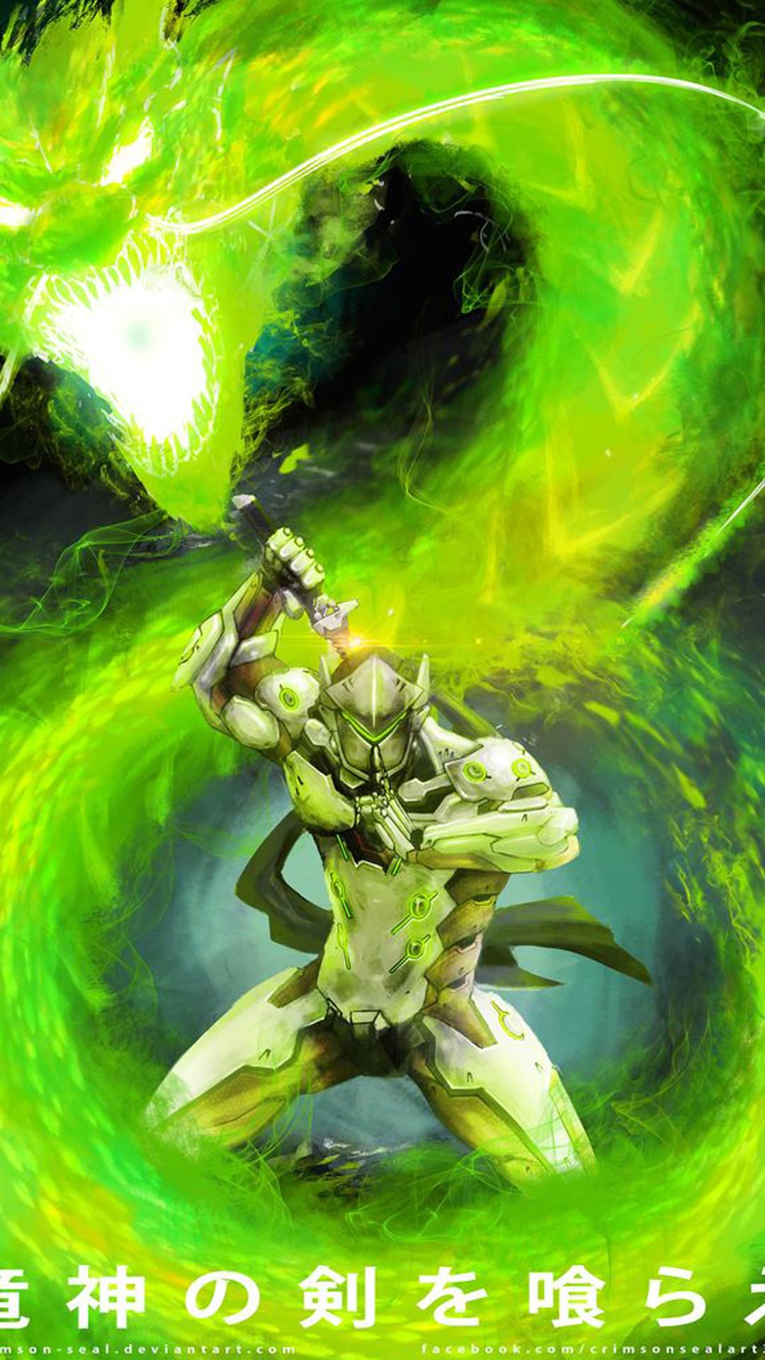 Genji Overwatch Wallpaper 75 Images