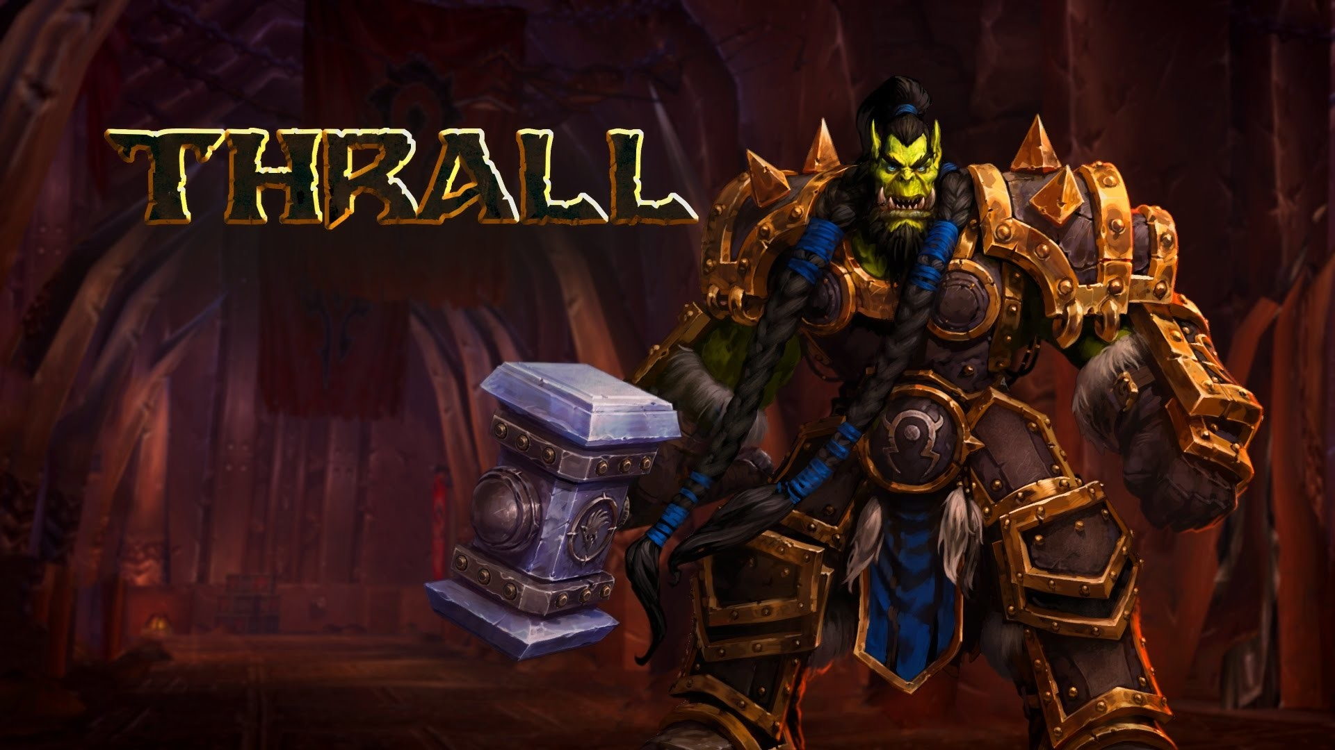 Thrall wallpapers 72 images - Heroes of the storm phone wallpaper ...
