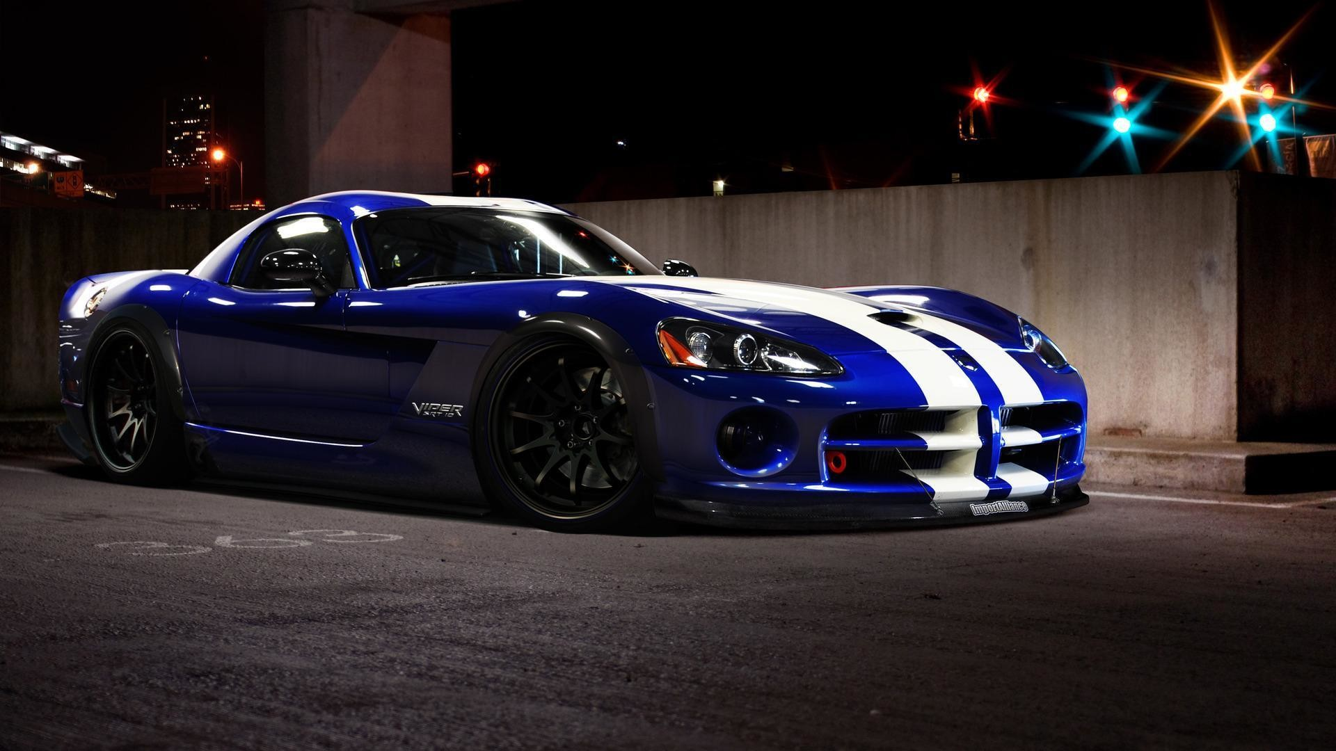 1920x1080 2015 Dodge Viper GTS R Blue Custom Wallpaper #17844 | Car Desktop  .